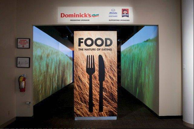 """Food: The Nature of Eating"" at the Peggy Notebaert Nature Museum traces the history and path of food in America."