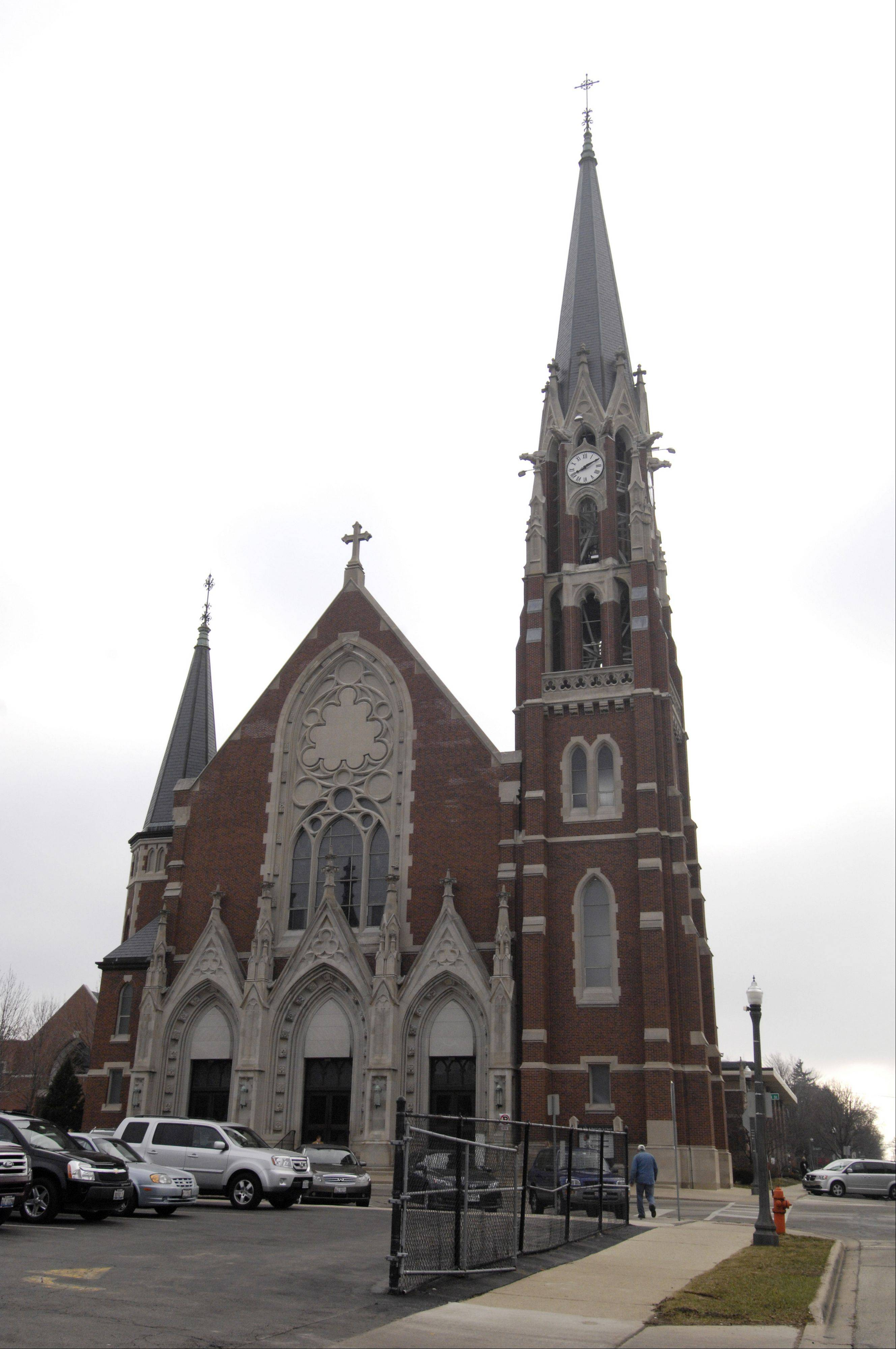 For the first time in nearly four decades, parishioners at Ss. Peter and Paul Catholic Church in Naperville were welcomed to Easter Mass on Sunday with the sound of real church bells ringing.