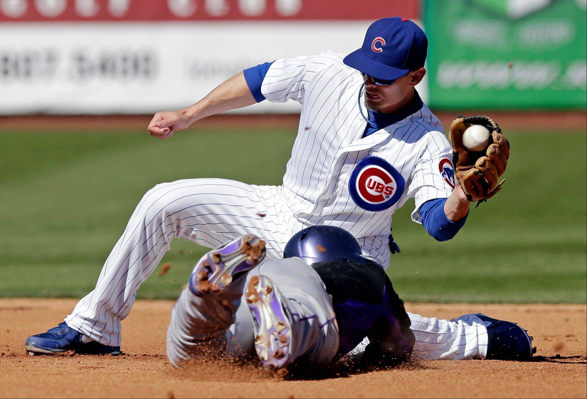 Brent Lillibridge not only made the Cubs as a nonroster player out of spring training, he will start at second base Monday in Pittsburgh.