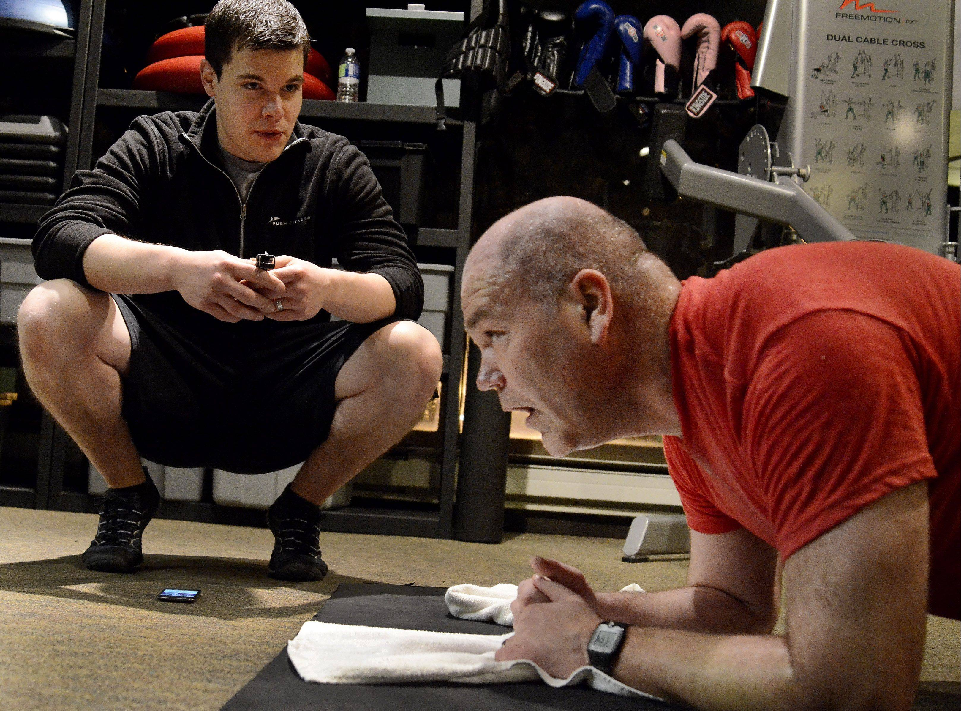 Trainers keeping contestants motivated, accountable