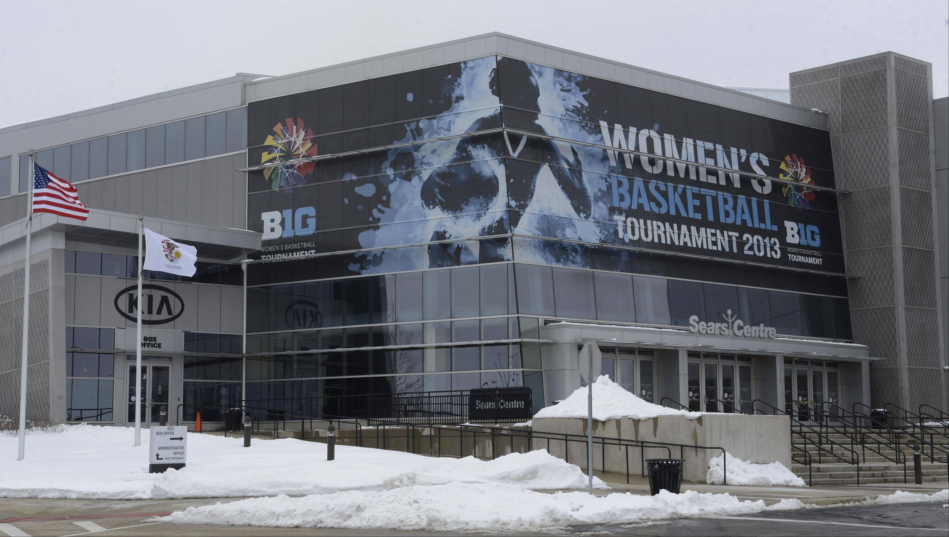 The Big Ten women's basketball tournament March 7-10 helped the Sears Centre in Hoffman Estates break a monthly paid attendance record.