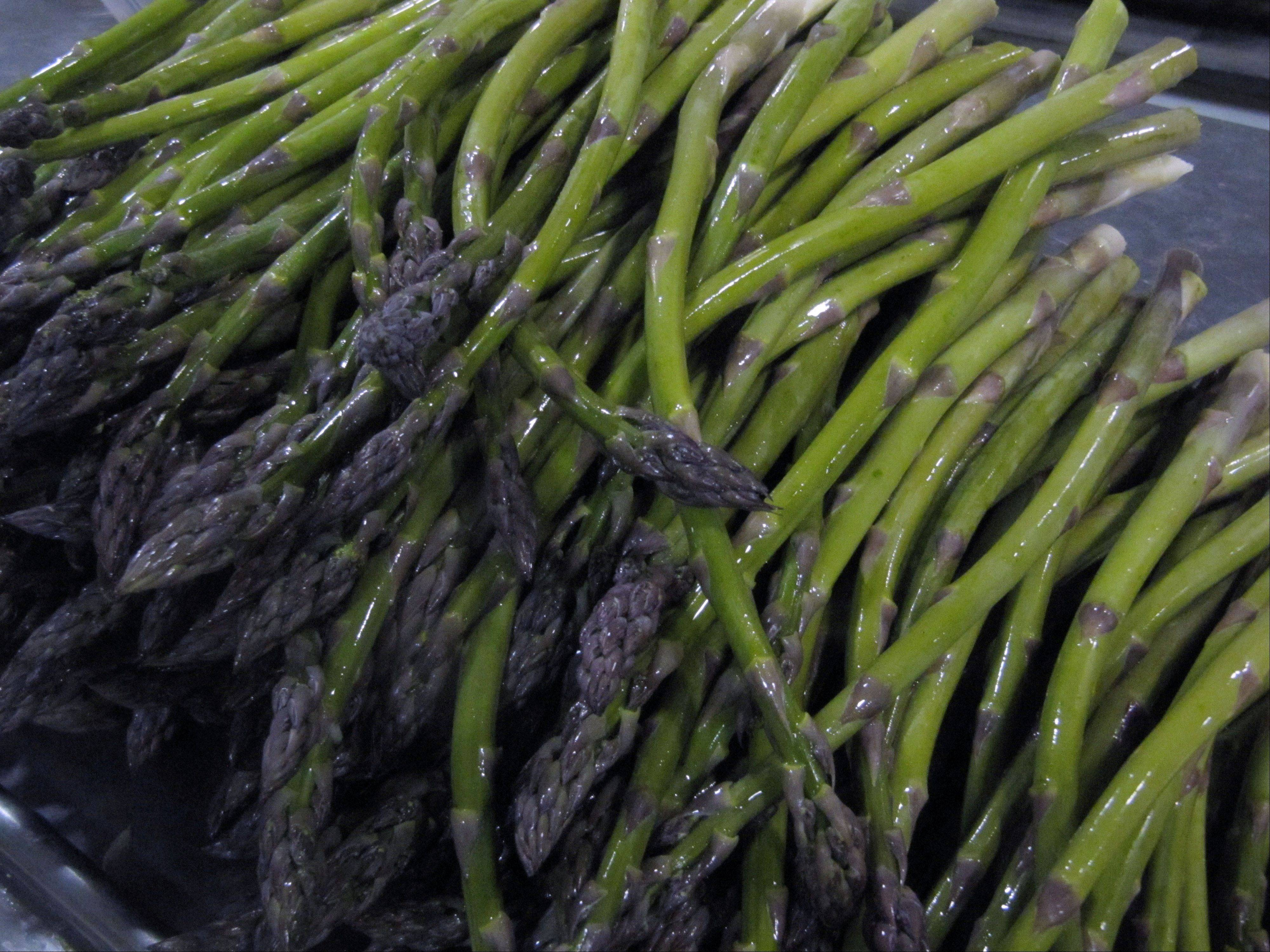 After decades in decline, asparagus consumption is back up.