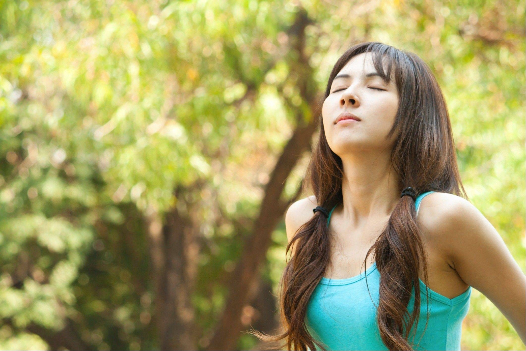 Breathing in fresh air can be hampered by lung diseases.