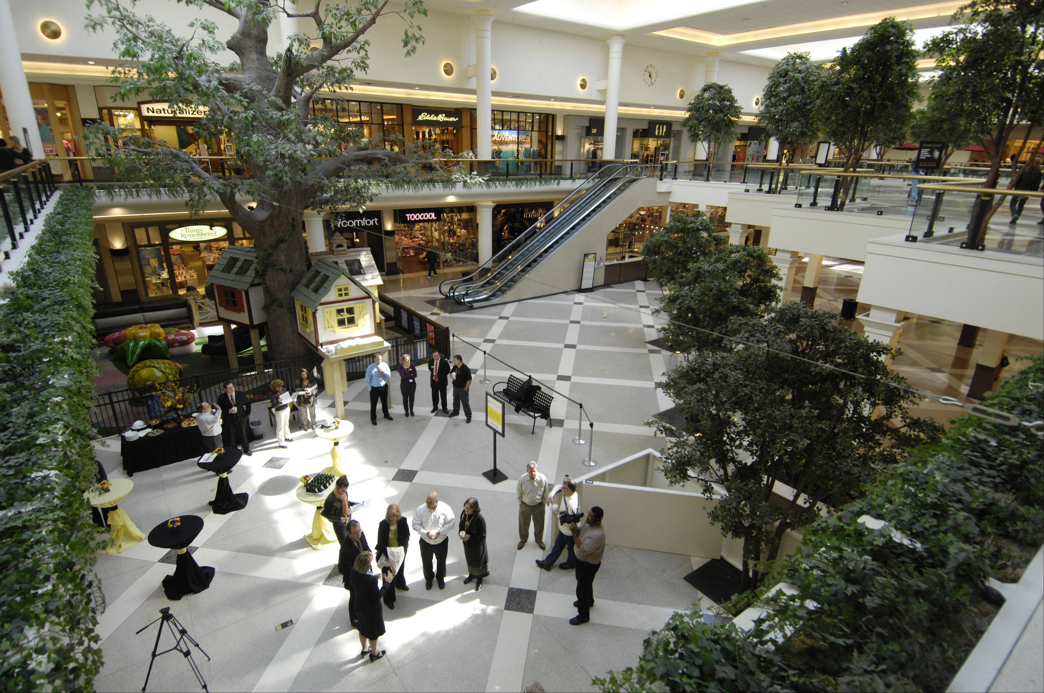 Yorktown's Center Court area will be the first portion of the mall to be renovated.