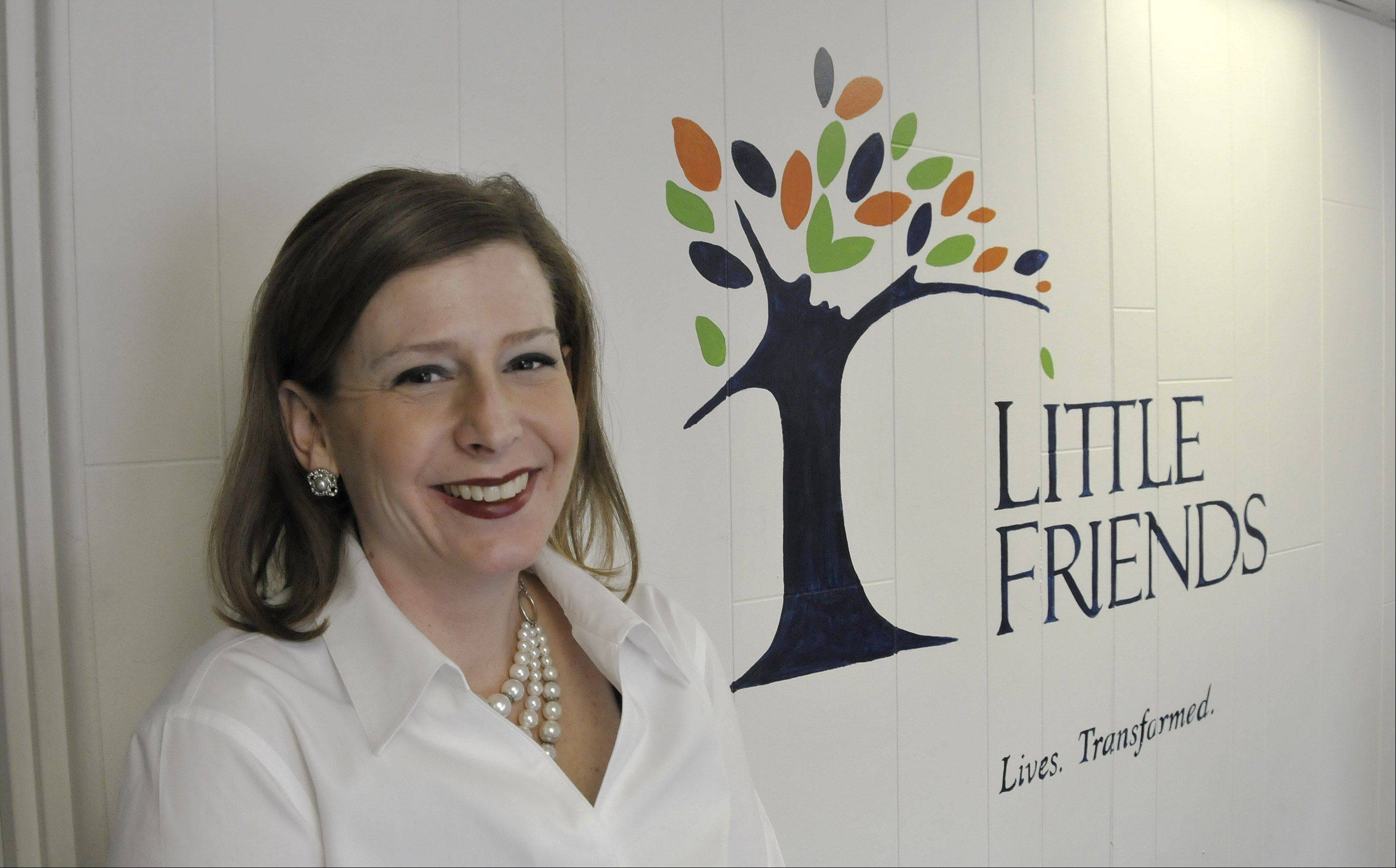 Naperville native Kristi Landorf became CEO and president of Little Friends last summer after eight years with the organization.