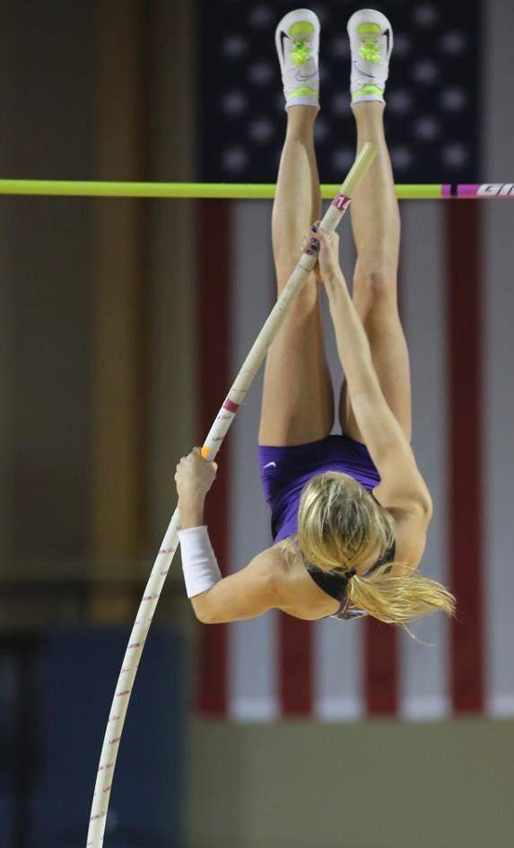Batavia graduate Kathryn Warner is now an accomplished pole vaulter at East Carolina University who also is making a comeback in the hurdles and participates on the 1,600 relay.