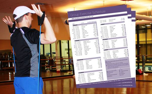 New Group Exercise Schedule at Sachs Recreation Center