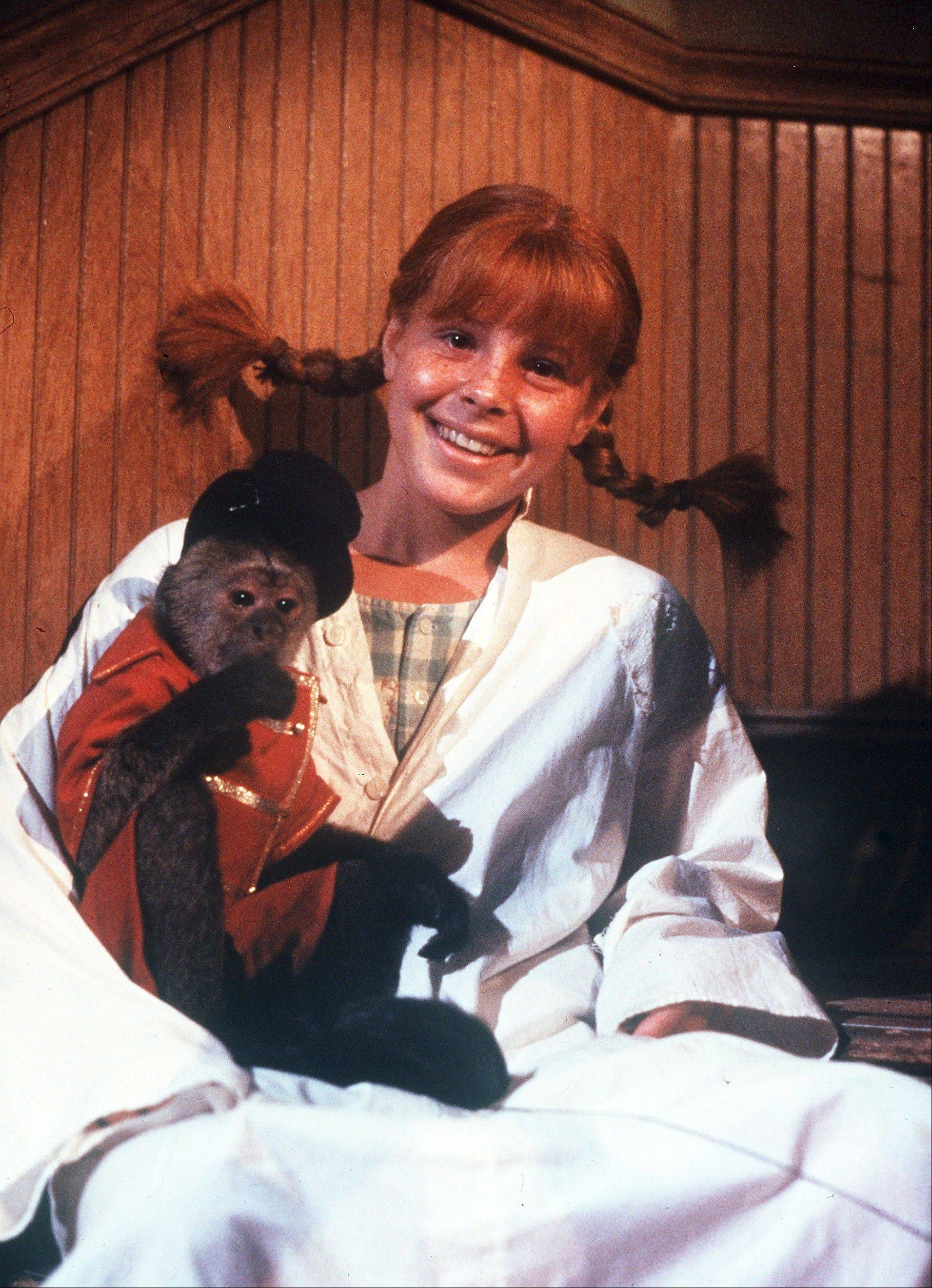 "Wheaton native Tami Erin got to play with the monkeys on the set of the 1988 release ""The New Adventures of Pippi Longstocking."""