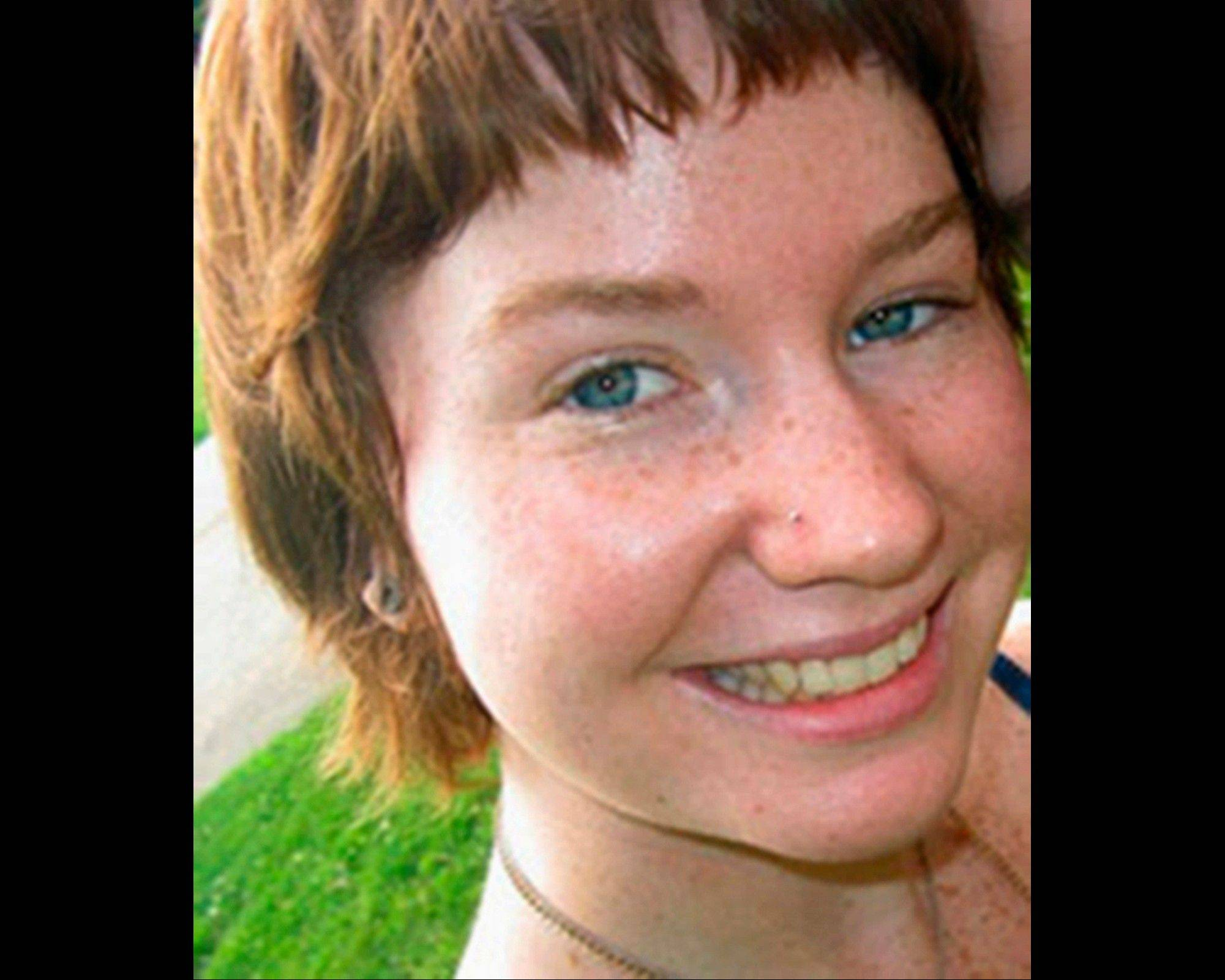 "This undated file photo provided by Northern Illinois University in DeKalb, shows student Antinette ""Toni"" Keller, 18, of Plainfield, who disappeared Oct. 14, 2010, and whose burned remains were later found in a park in DeKalb. On Wednesday, April 3, 2013, William Curl, 36, of DeKalb, who is charged Keller's slaying, will appear in court to enter a plea in exchange for a 37-year prison sentence."