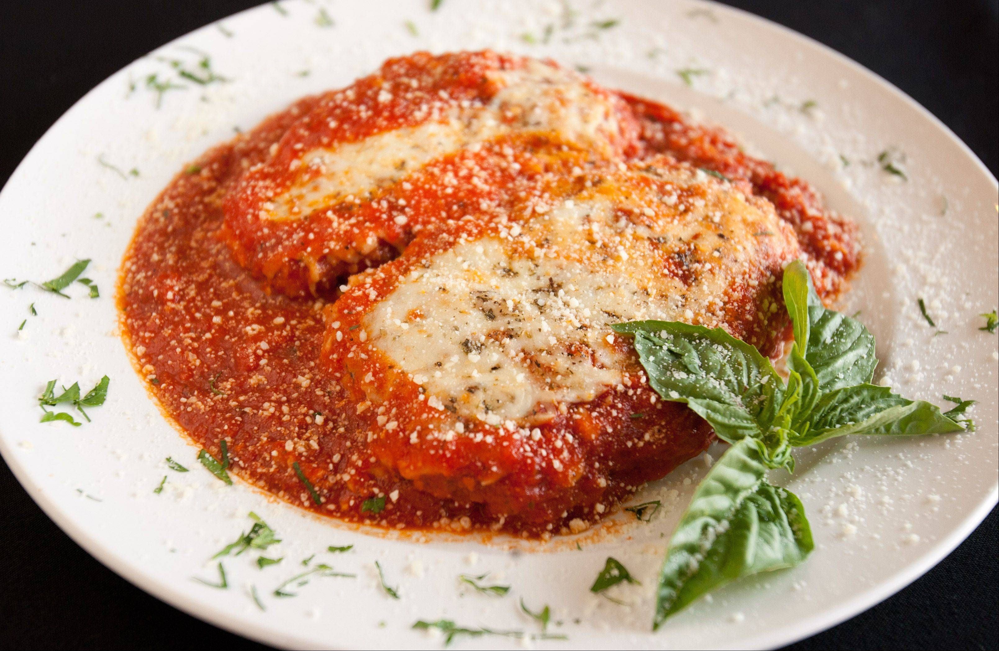 Chicken Parmesan at Navarro's of Naperville.
