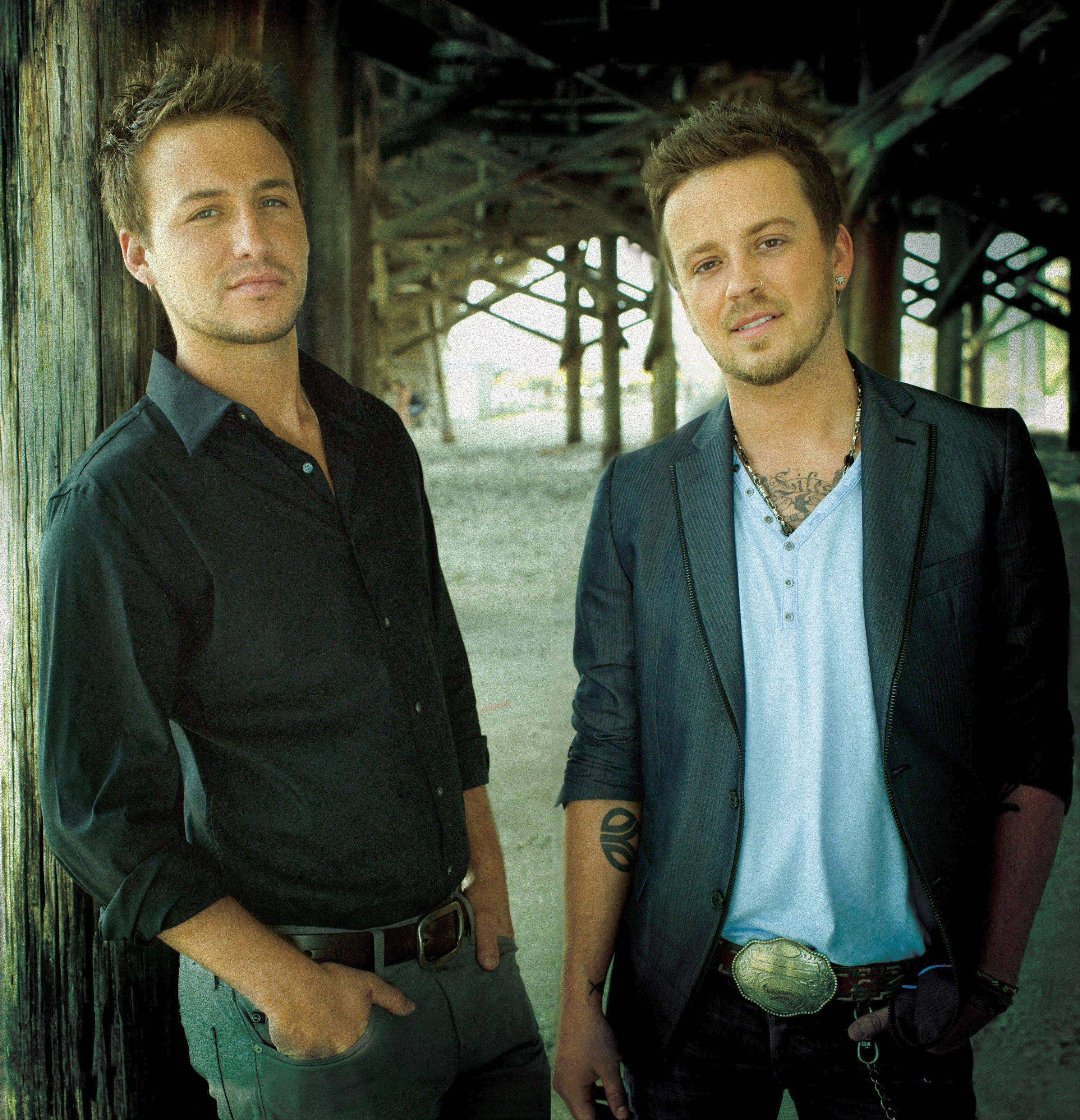 Country music duo Love and Theft -- also known as Stephen Baker Liles and Eric Gunderson -- will perform July 4 at Naperville's Ribfest celebration.