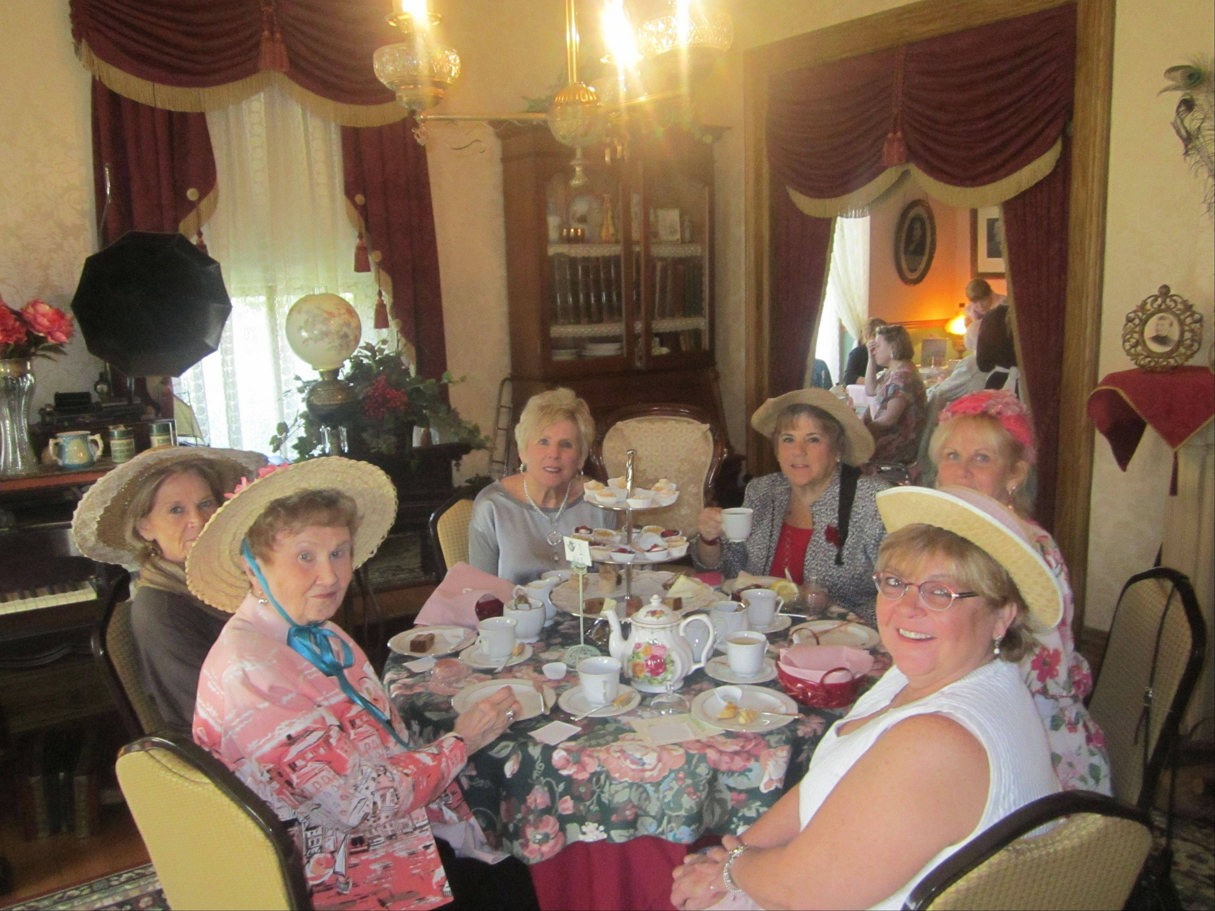 The Palatine Historical Society will host its 19th annual Victorian Teas at Clayson House, in Palatine, April 6, 7, 13 and 14. Tickets are $25, call (847) 991-6460 for reservations.