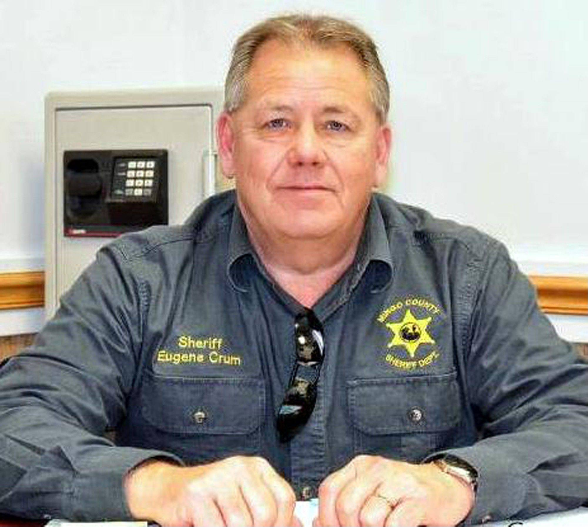 Associated Press Mingo County Sheriff Eugene Crum was gunned down Wednesday, April 3, 2013, in the spot where he usually parked and ate lunch in Williamson, W.Va.
