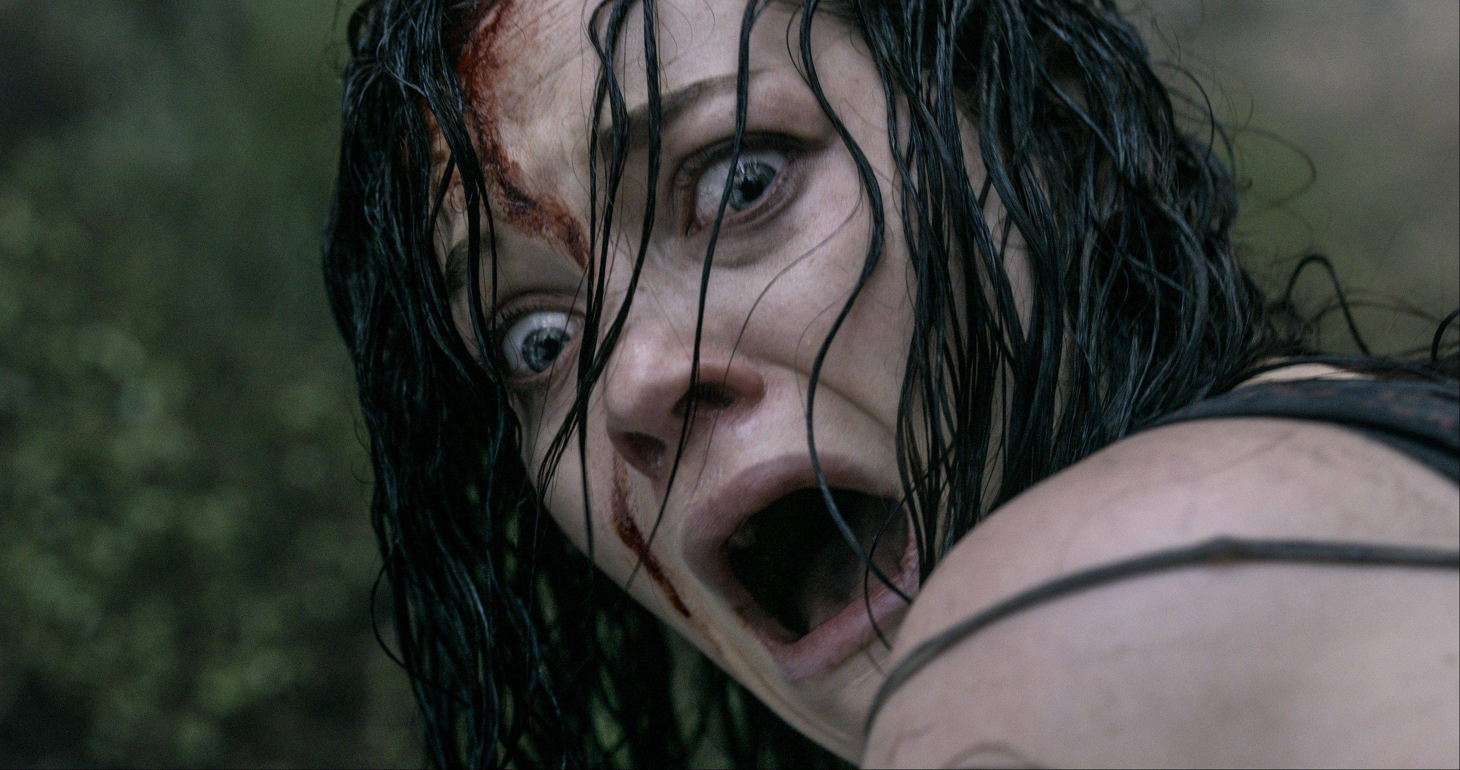 "A drug addict (Jane Levy) discovers that there are things worse than going cold turkey in the horror remake ""Evil Dead."""