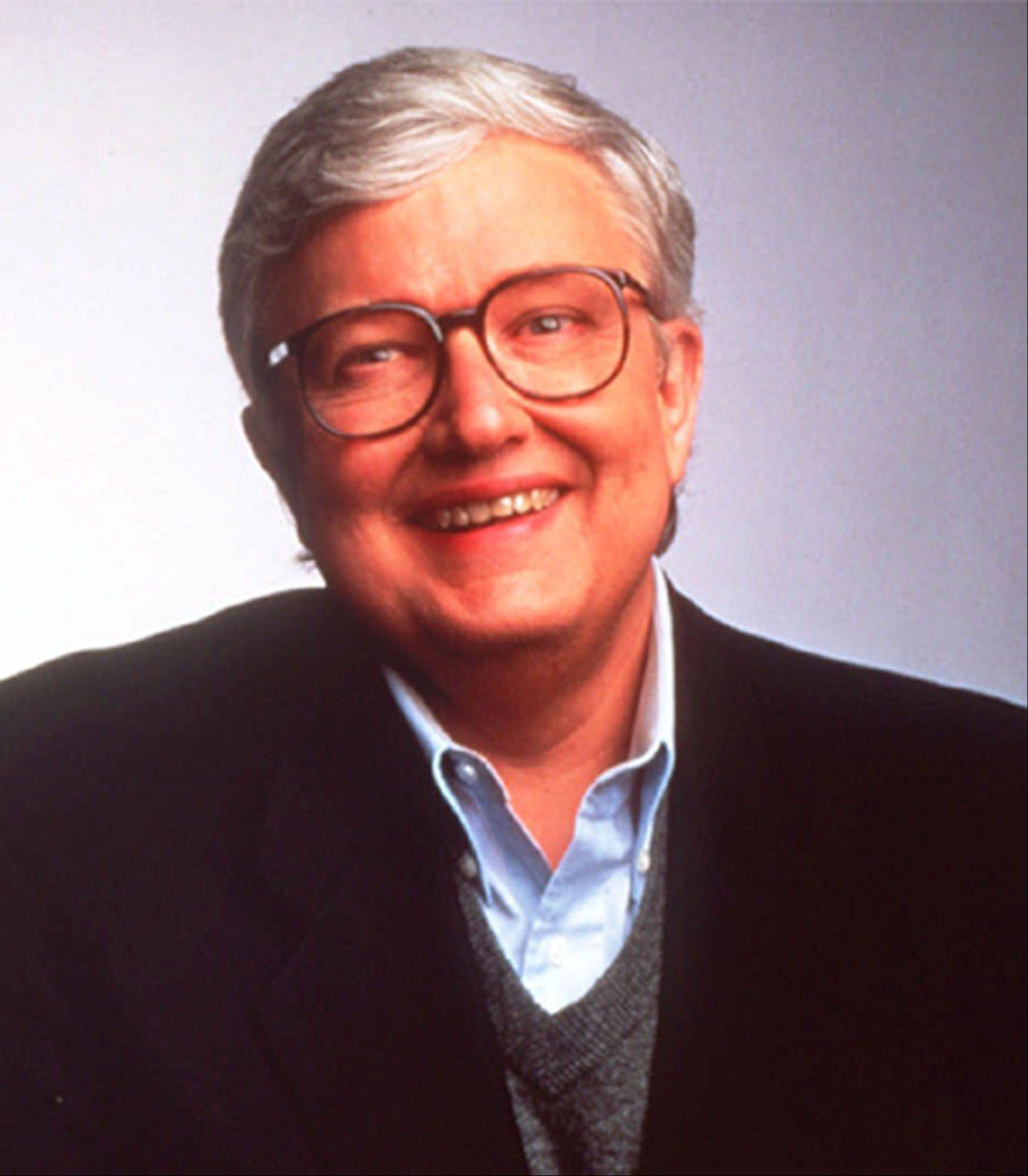 Film critic Roger Ebert is seen in this 1994 file photo. Ebert,in town for his annual Overlooked Film Festival, slipped on a newly waxed floor and suffered two hairline fractures in his left shoulder Saturday, April 27, 2002, in the student union at the University of Illinois.