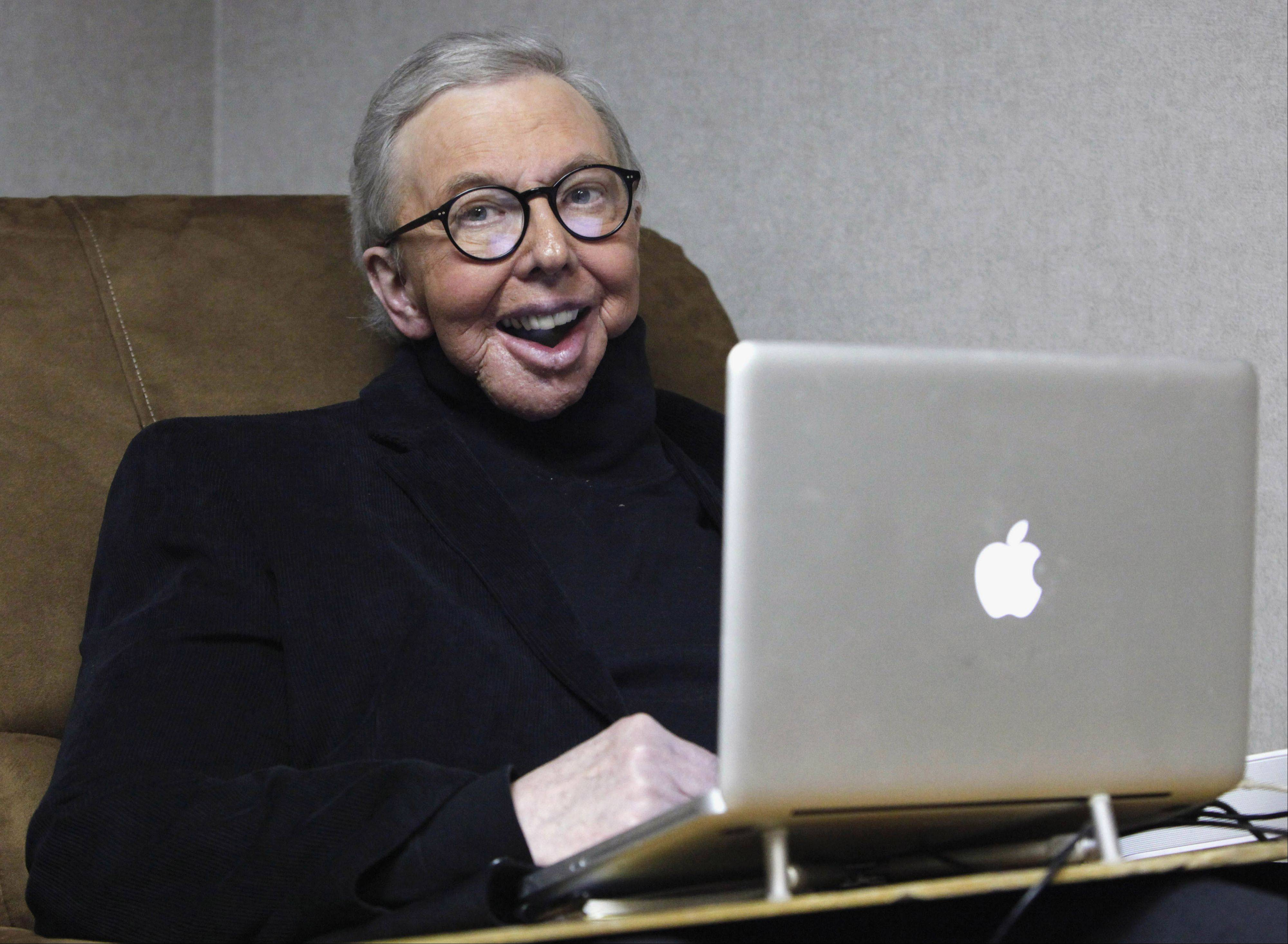 Pulitzer Prize-winning movie critic Roger Ebert, seen here in a 2011 photo, died Thursday after a long battle with cancer.