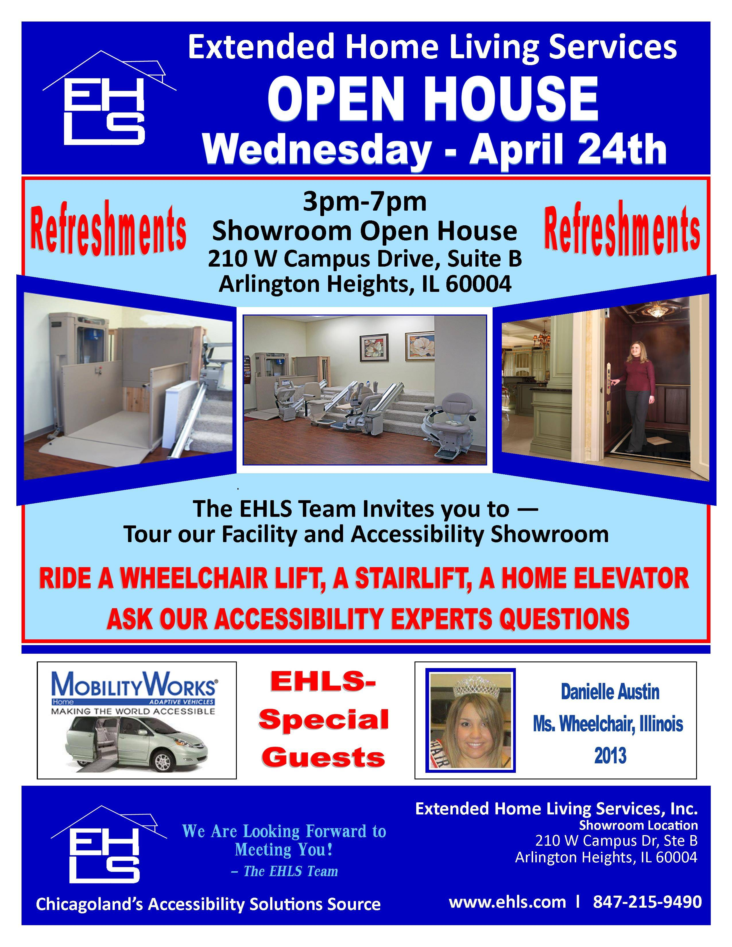 Flyer for Open House Event
