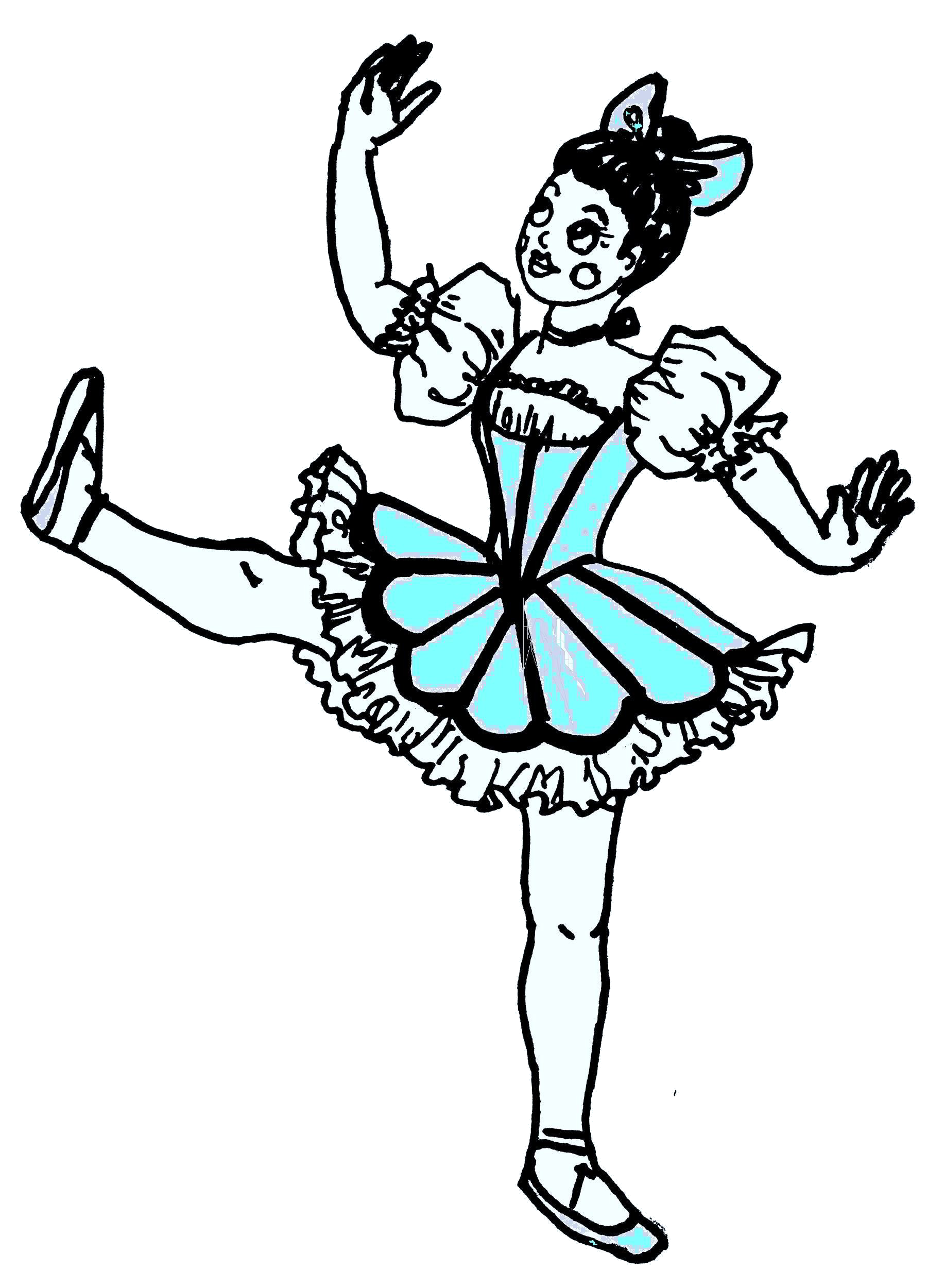 Clip art of Coppelia Doll