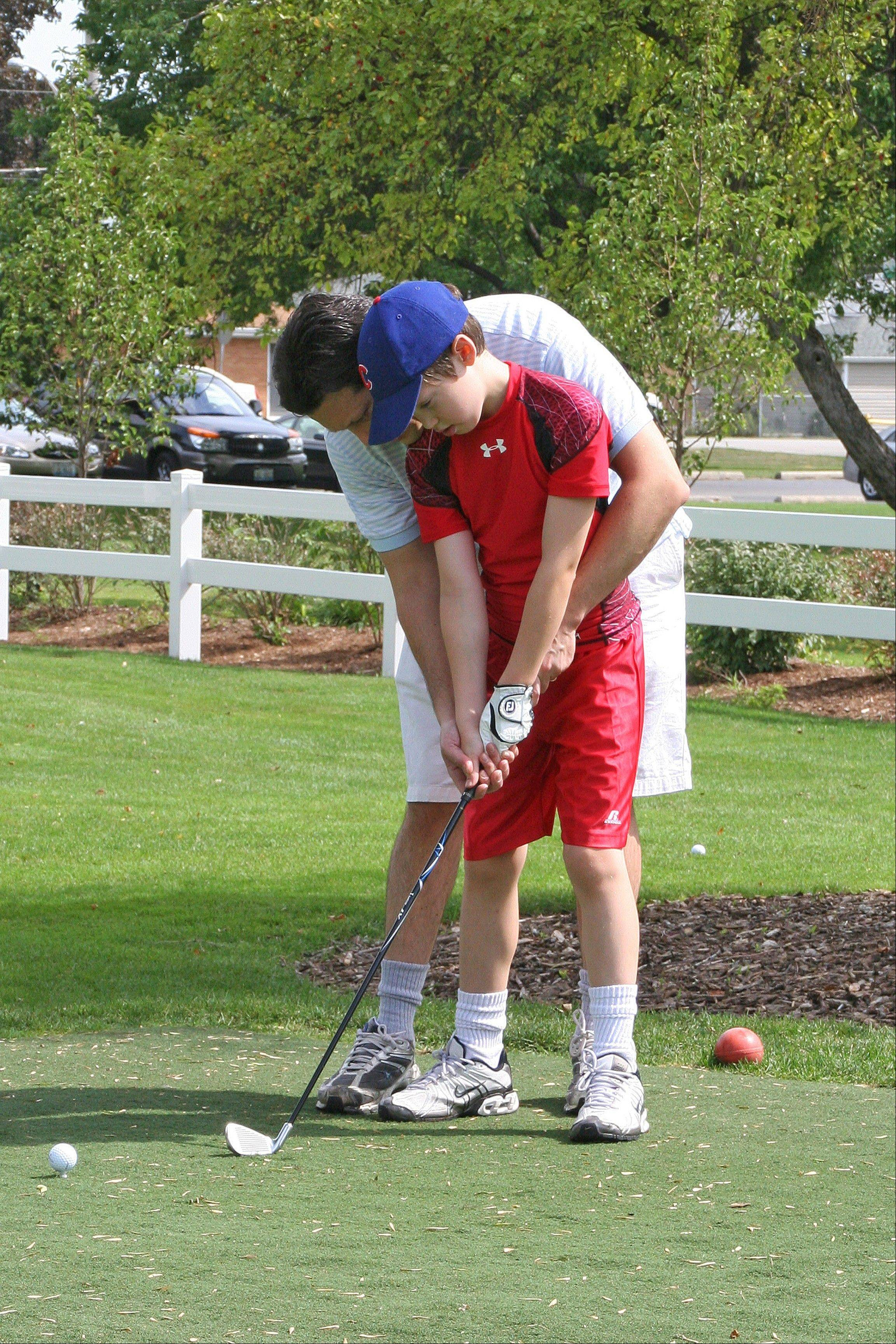 Kids play for $6 a day when with a paying adult at Lake Park Golf Course, Des Plaines, which is opening Friday, April 5.