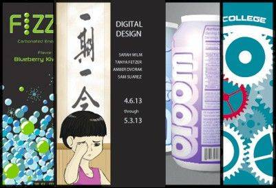 North Central College�s new art exhibit, �Digital Design,� features pieces that are computer-generated.