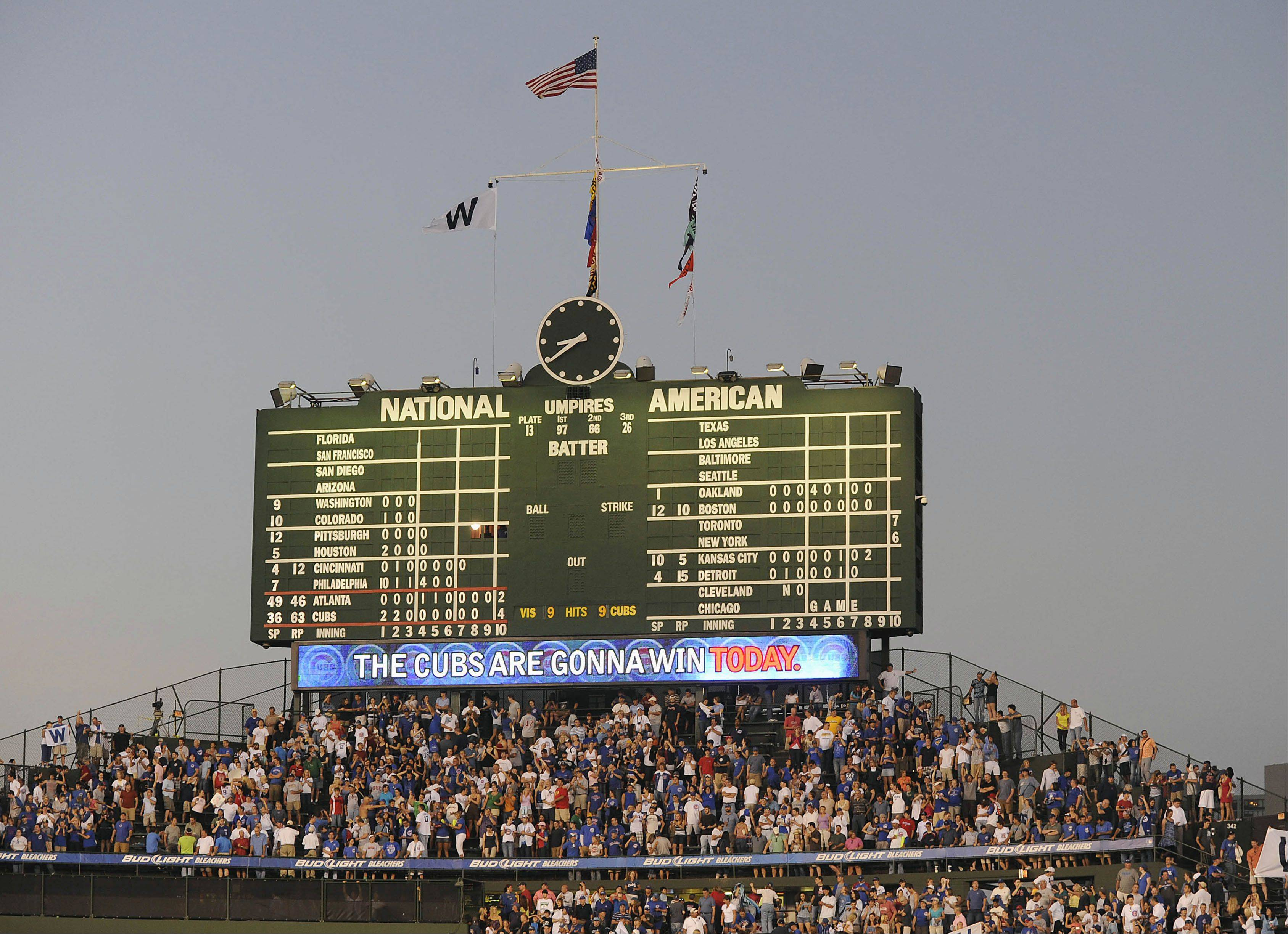 Did you see your first Major League game at iconic Wrigley Field?