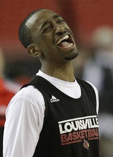 Kevin Ware is everybody's favorite player since he broke his leg in gruesome fashion last weekend yet summoned the strength to encourage his teammates, and having him at the Final Four has given the top-seeded Cardinals (33-5) added motivation to claim the title that eluded them last year.