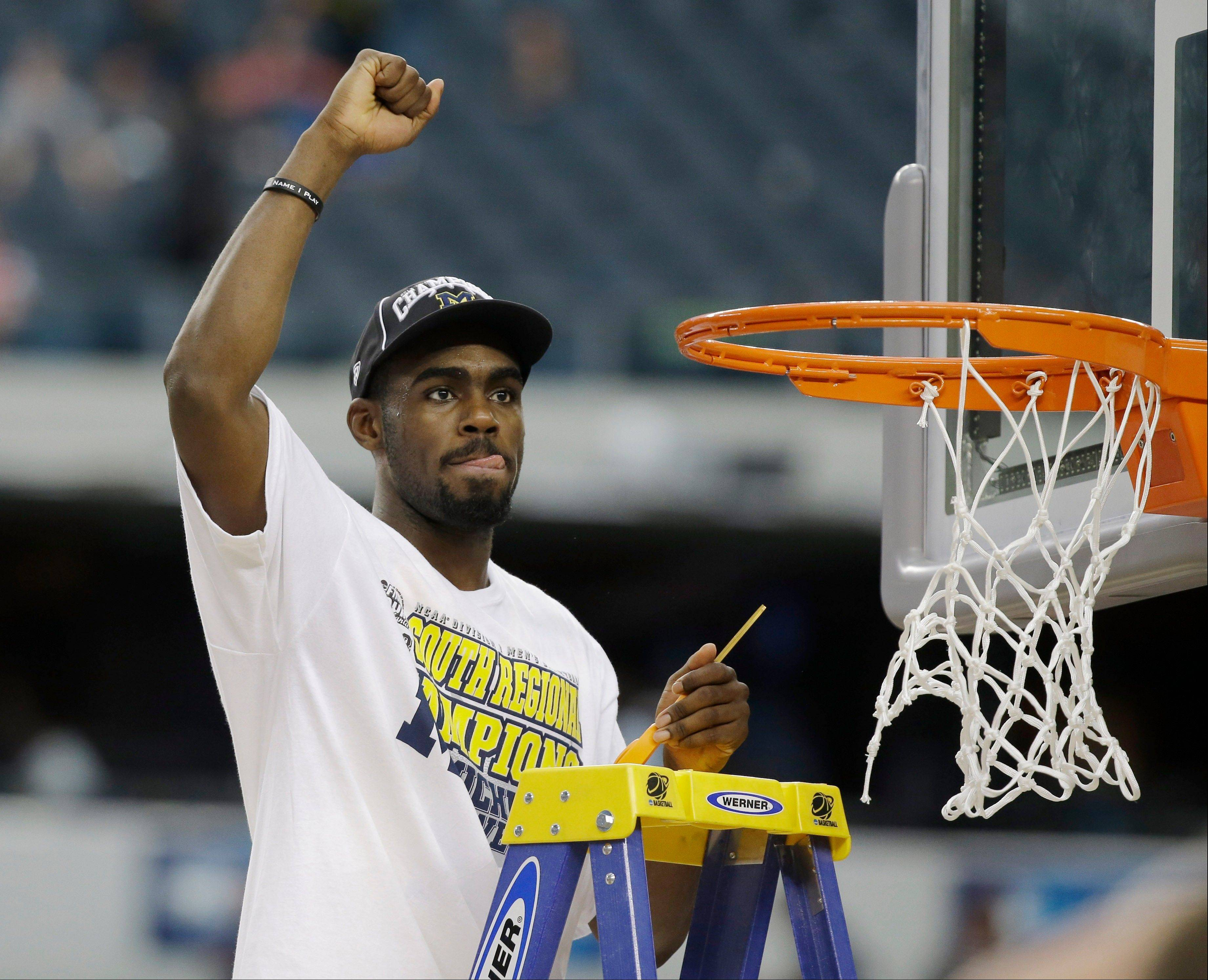 Mike North believes Michigan's Tim Hardaway Jr. will have a chance to cut down the nets and celebrate an NCAA National Championship on Monday night.