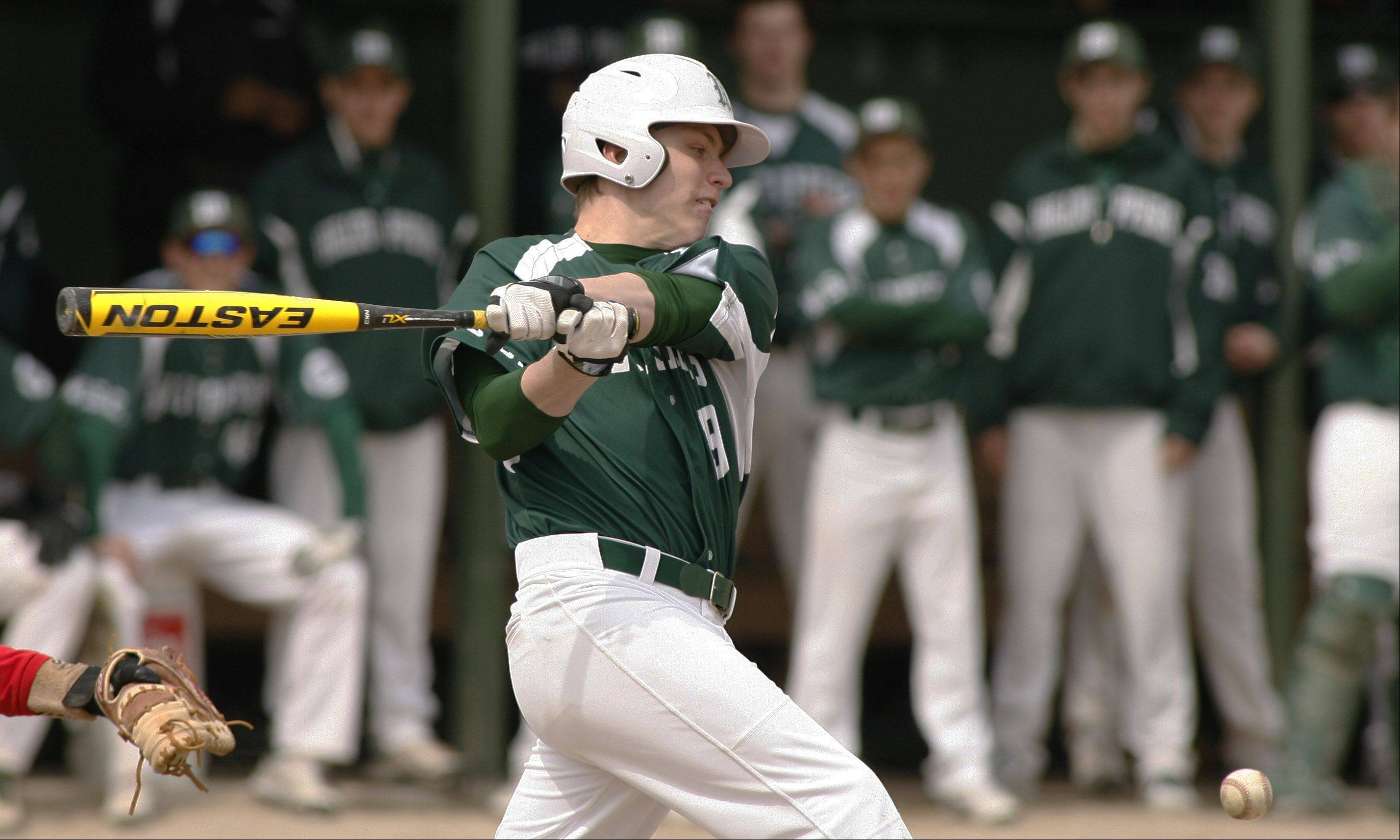 Glenbard West, Hinsdale Central split DH