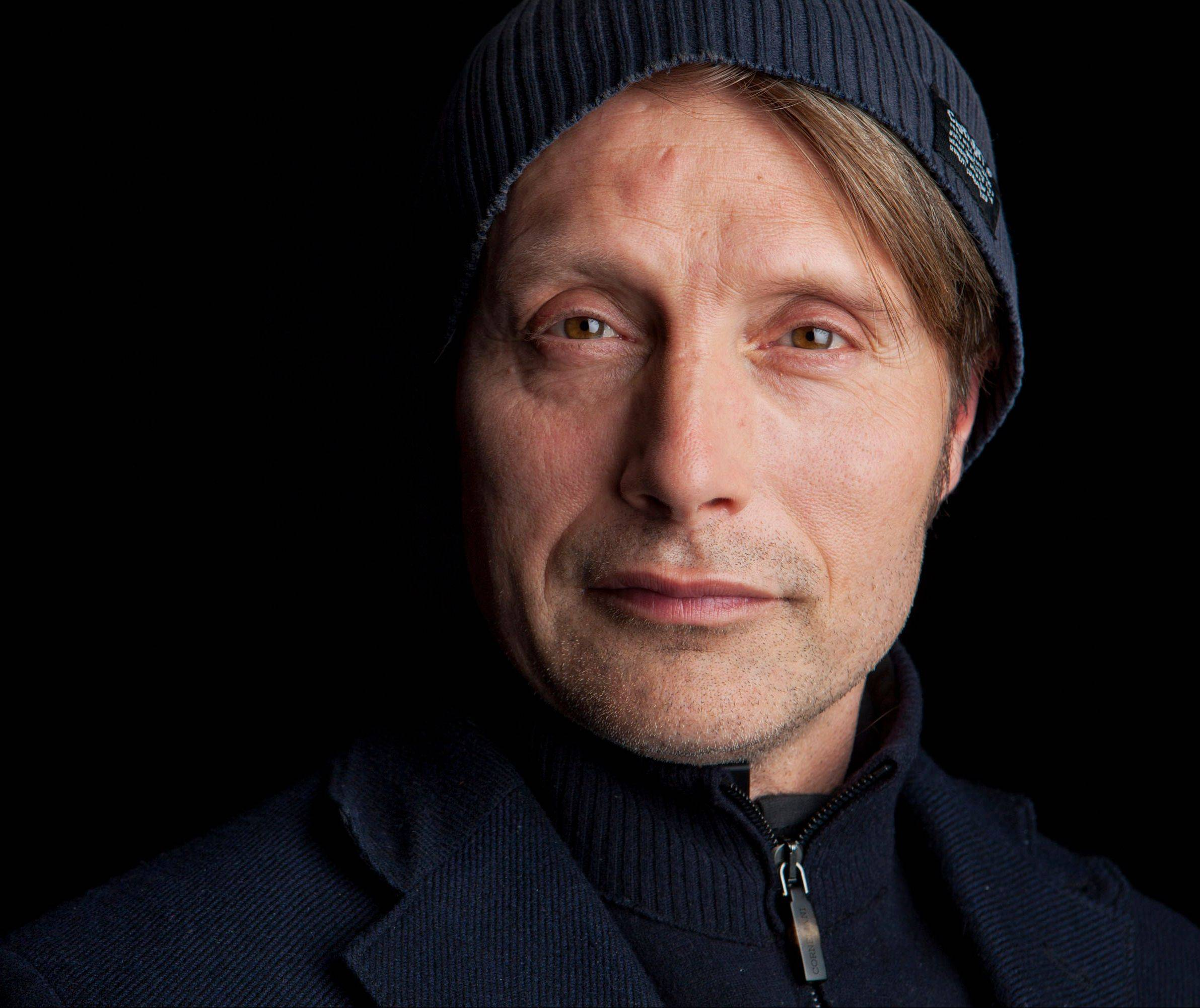 "Danish actor Mads Mikkelsen stars as Dr. Hannibal Lecter in the new NBC series ""Hannibal."""