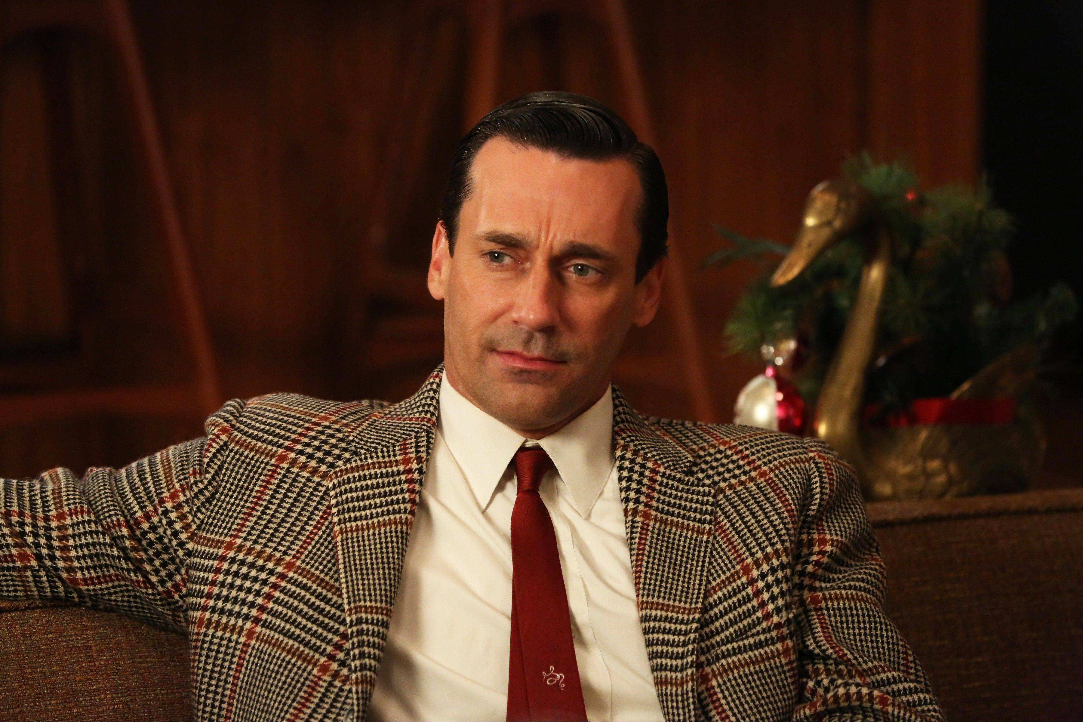 "Jon Hamm as Don Draper and ""Mad Men"" returns for its sixth season Sunday on AMC with 13 new episodes. Series Creator Matthew Weiner says he plans one more season for the 1960s drama."