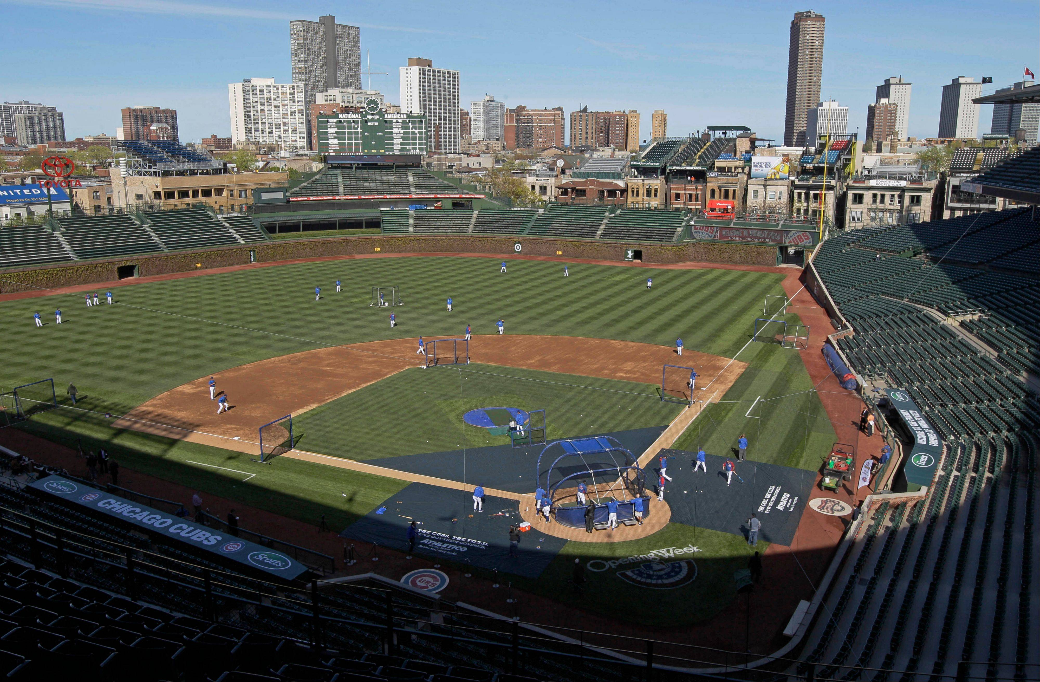 Baseball returns to Wrigley Field on Monday for the Cubs' home opener.
