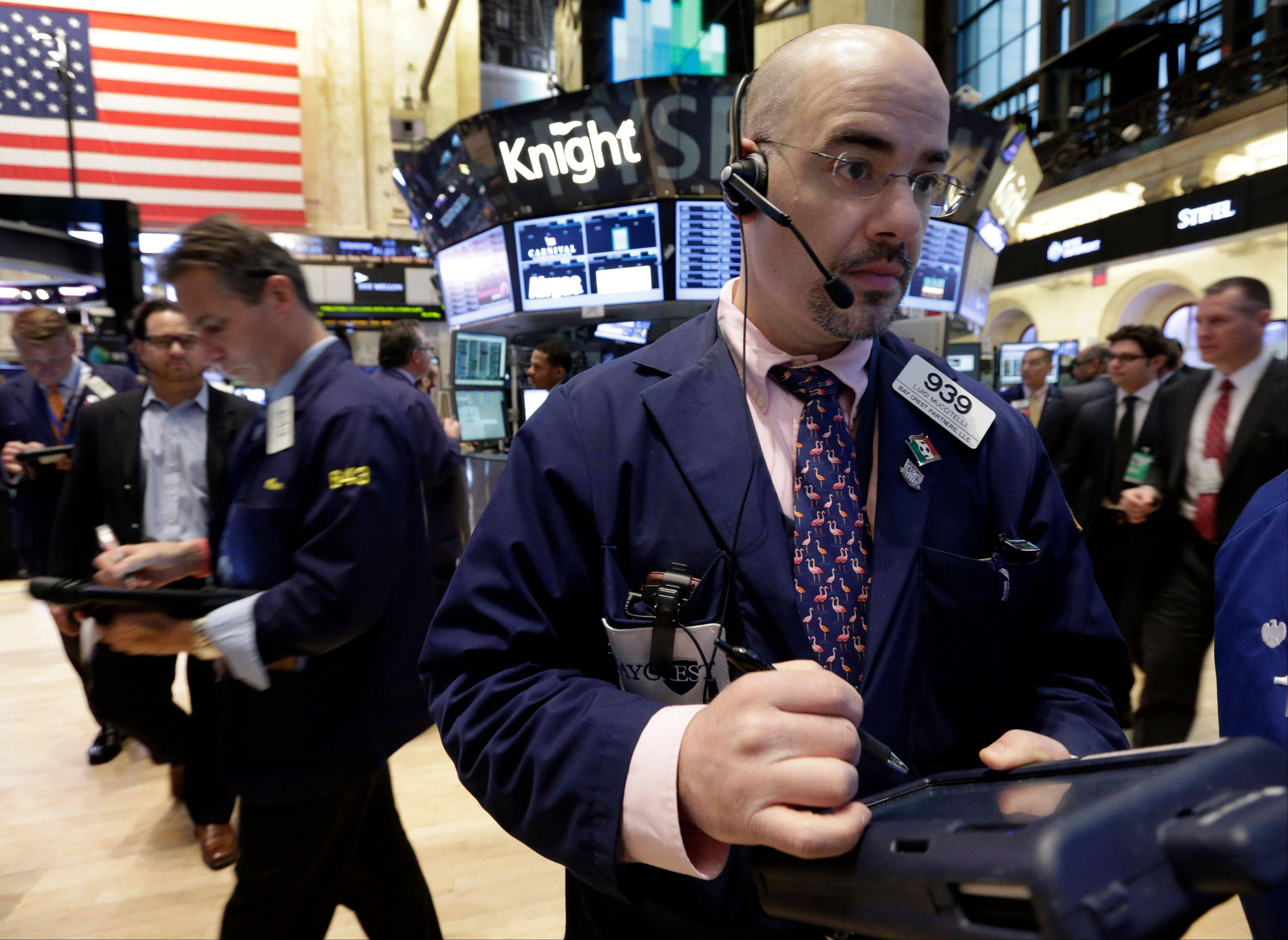 U.S. stocks rose, after the biggest weekly drop of the year for the Standard & Poor�s 500 Index, as investors awaited the beginning of the earnings season.