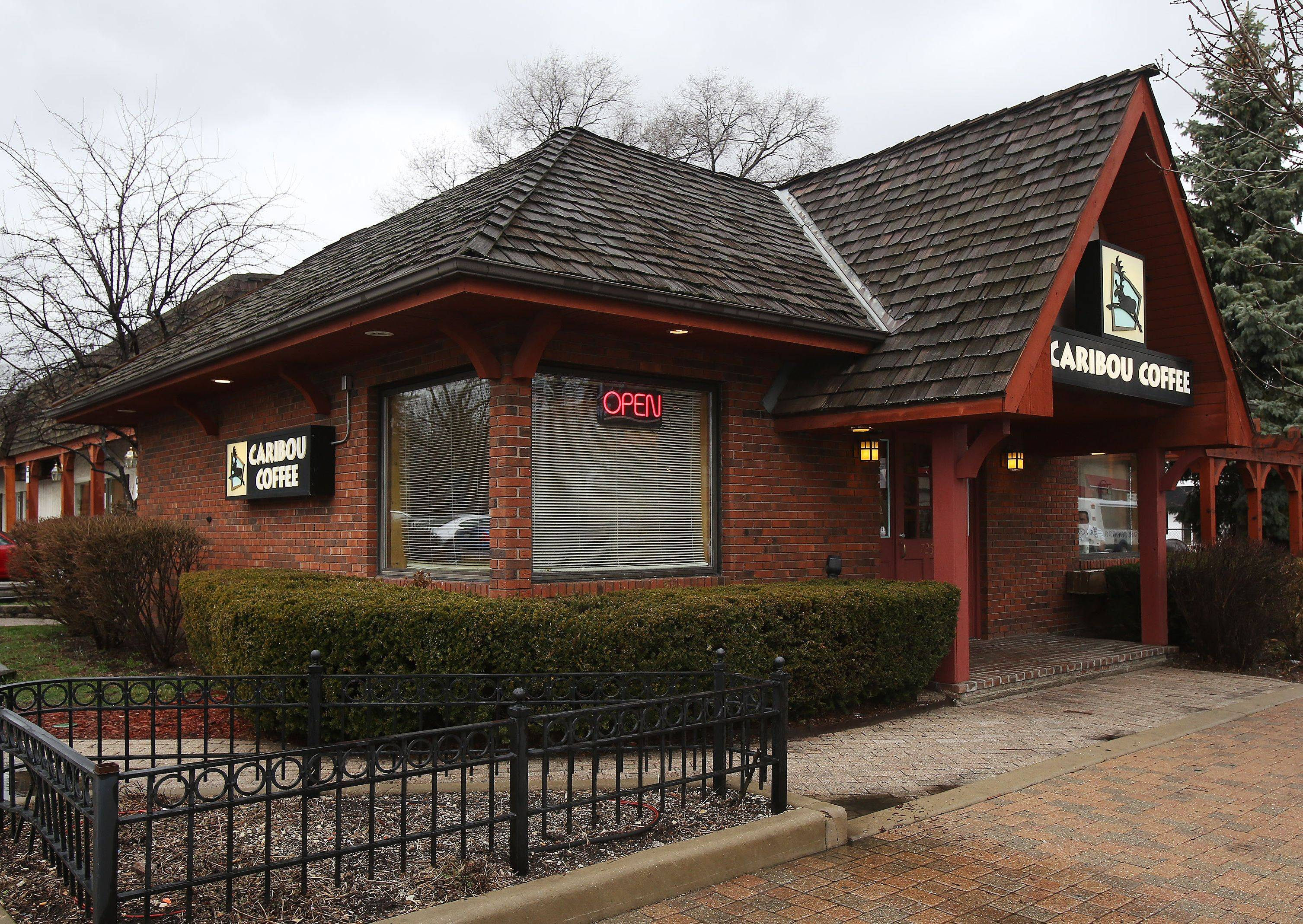 Caribou Coffee in Libertyville is among those that will close for good on Sunday.