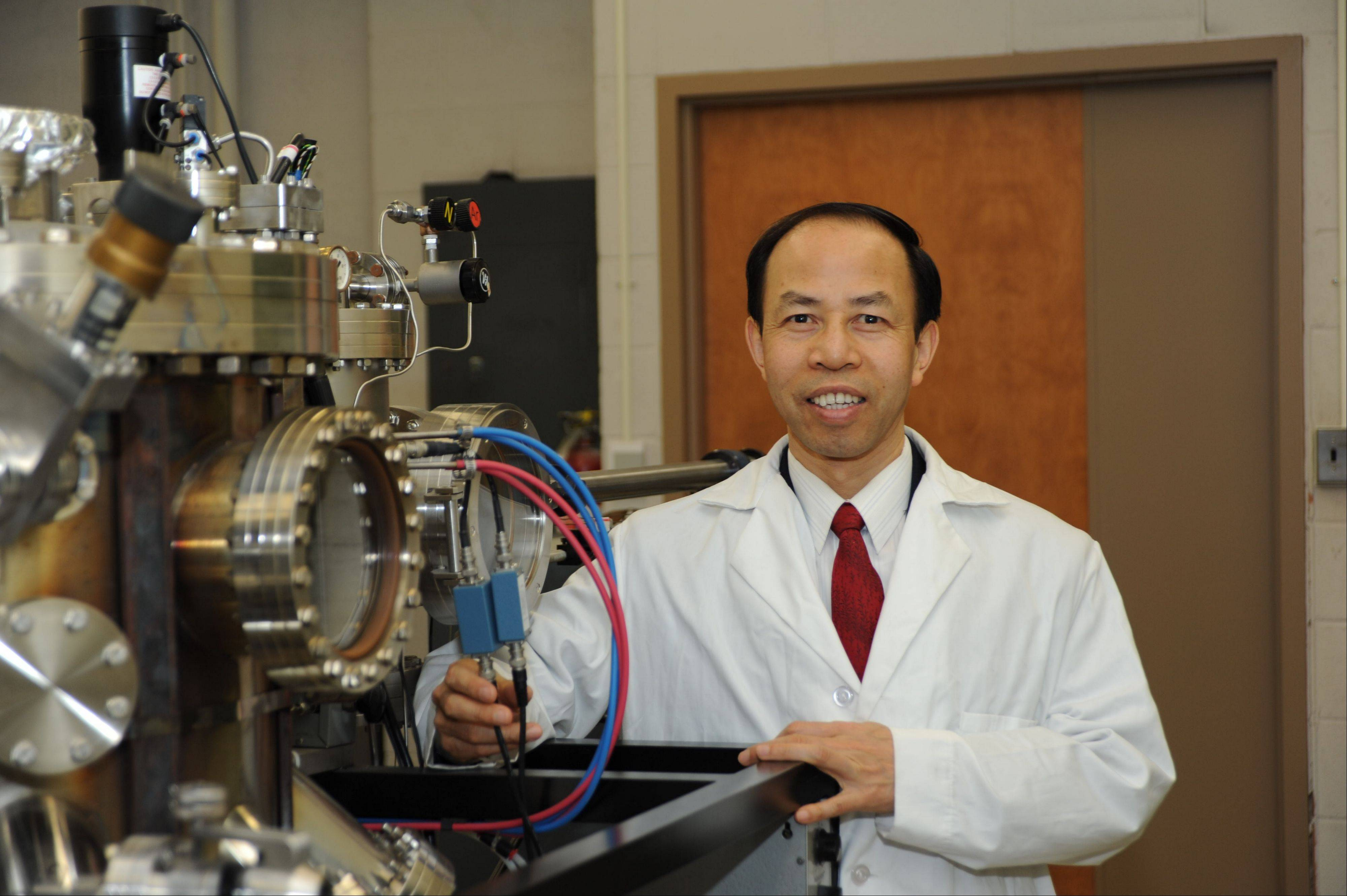 Zhili Xiao of Naperville, a physics professor at Northern Illinois University and who conducts research at Argonne National Laboratory, is one of three NIU professors honored with a Board of Trustees Professorship.