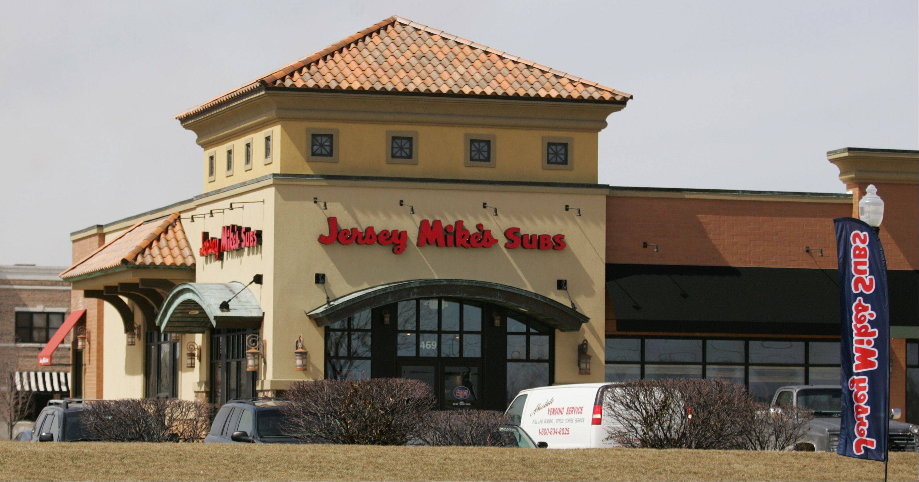 Jersey Mike's Subs franchisee Jim Shipman, who owns stores in St. Charles and Geneva, opened a location in South Elgin April 3.
