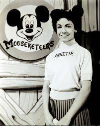 Annette Funicello as one of the original Mouseketeers.