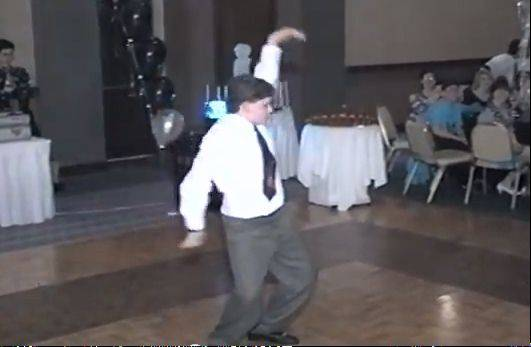 "Shaun Sperling dances to Madonna's ""Vogue"" at his 1992 bar mitzvah. The video, recently posted to YouTube, has more than 1.1 million views."