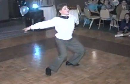 "Shaun Sperling dances to ""Vogue"" at his 1992 bar mitzvah. The video, recently posted to YouTube, has more than 1.1 million views."