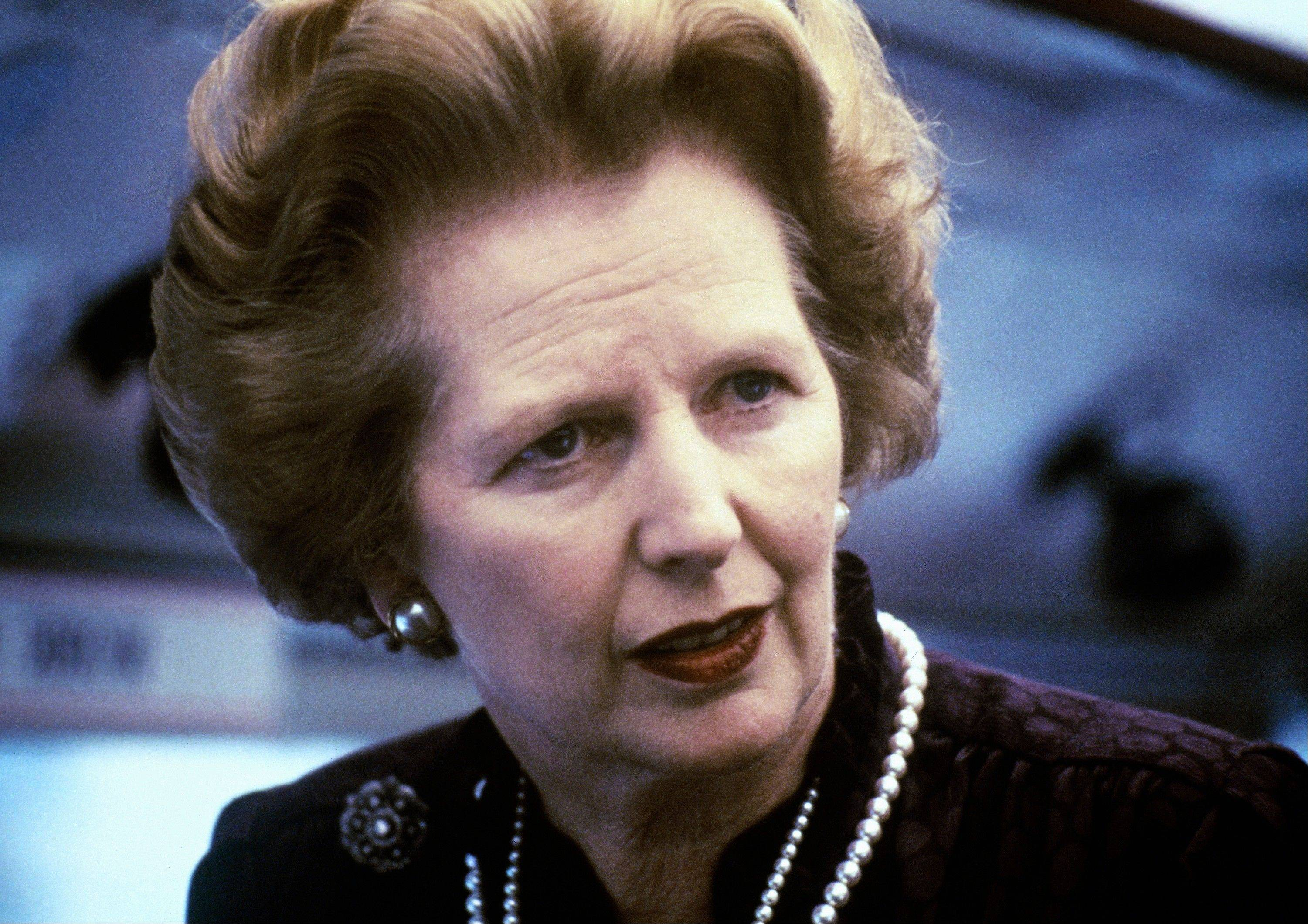 "This is a 1969 file photo showing Margaret Thatcher. Ex-spokesman Tim Bell says that former British Prime Minister Margaret Thatcher has died. She was 87. Bell said the woman known to friends and foes as ""the Iron Lady"" passed away Monday morning, Aprilo 8, 2013."