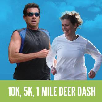 Deer Dash 10k,5k and 1 Mile Fun Run