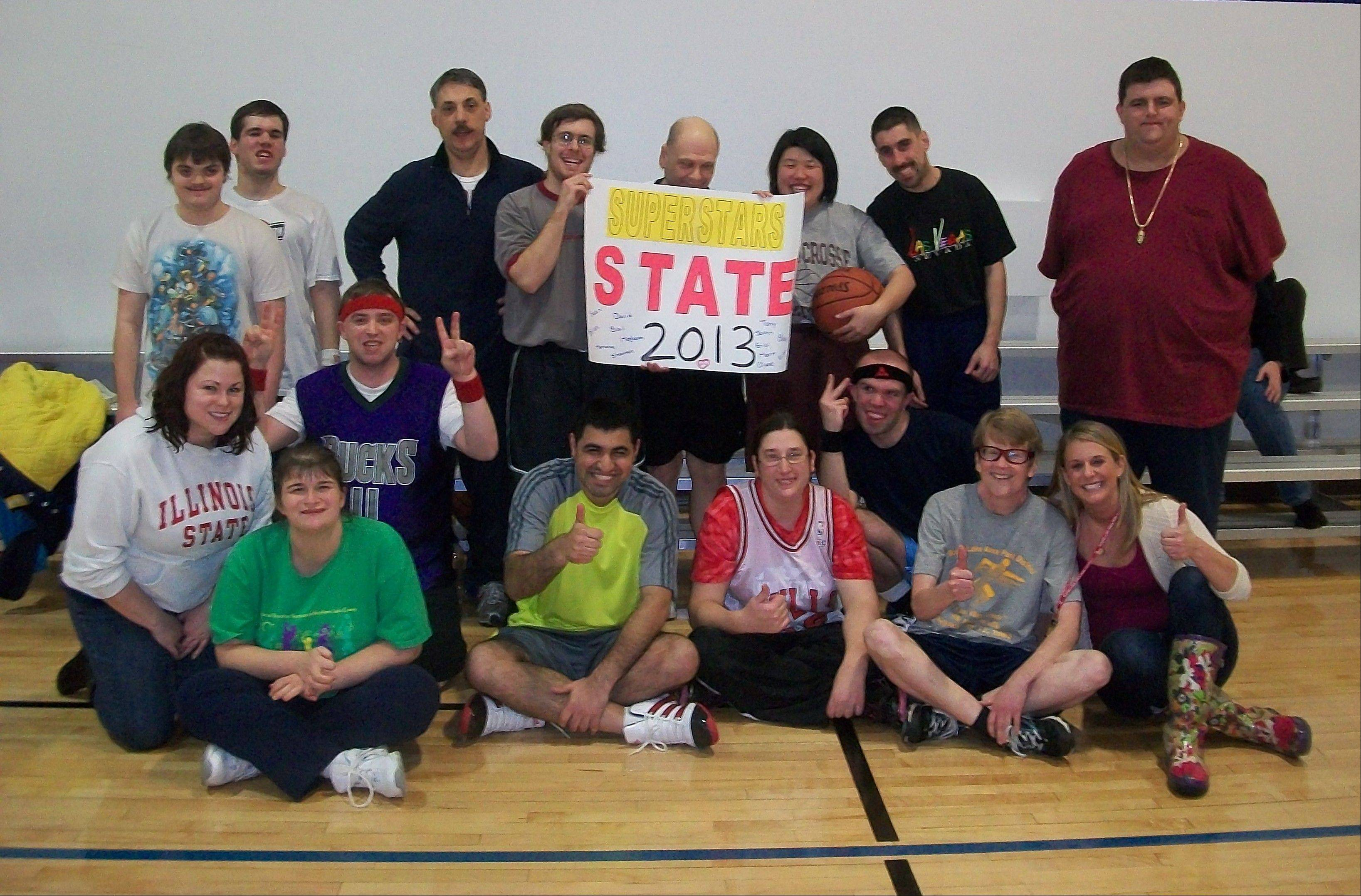 The Special Recreation Services of Northern Lake County Superstars and Jr. Superstars took bronze medals in the recent Special Olympics State Tournament.