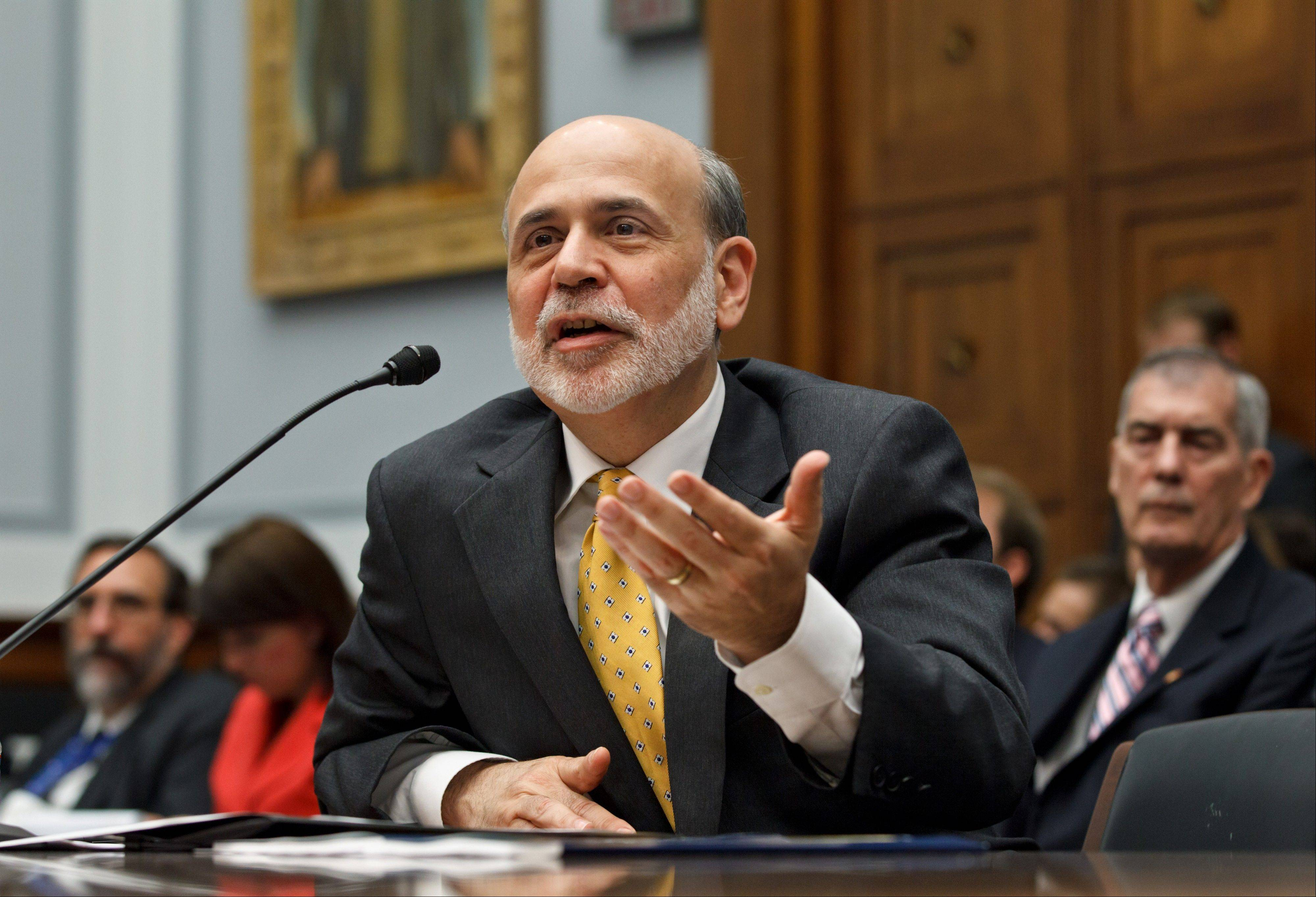 The Federal Reserve�s annual �stress tests� of major U.S. banks have become better able to detect risks, Chairman Ben Bernanke said Monday night. He said the tests show that the banking industry has grown much healthier since the financial crisis.