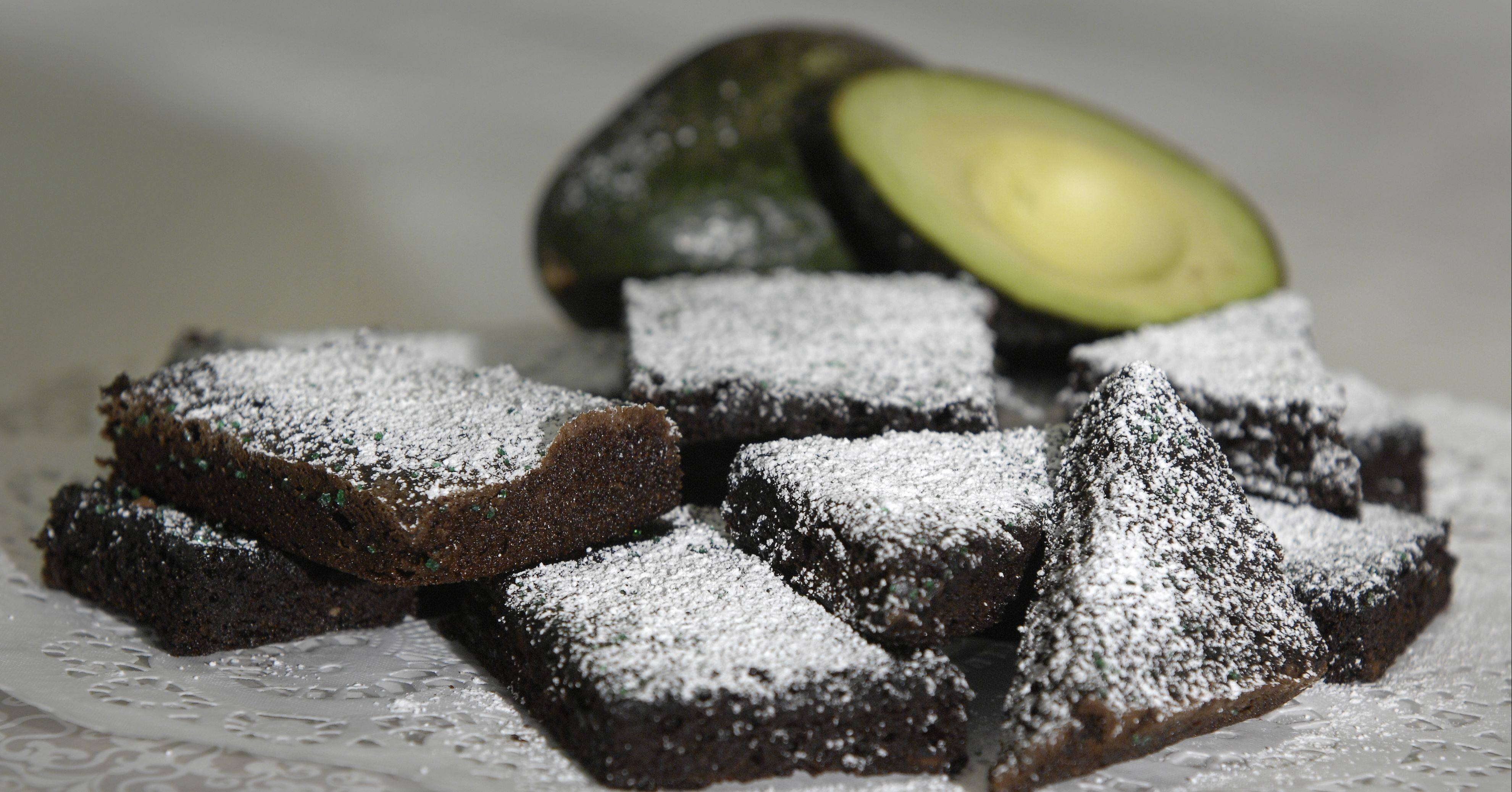 Avocado replaces butter in guiltless brownies