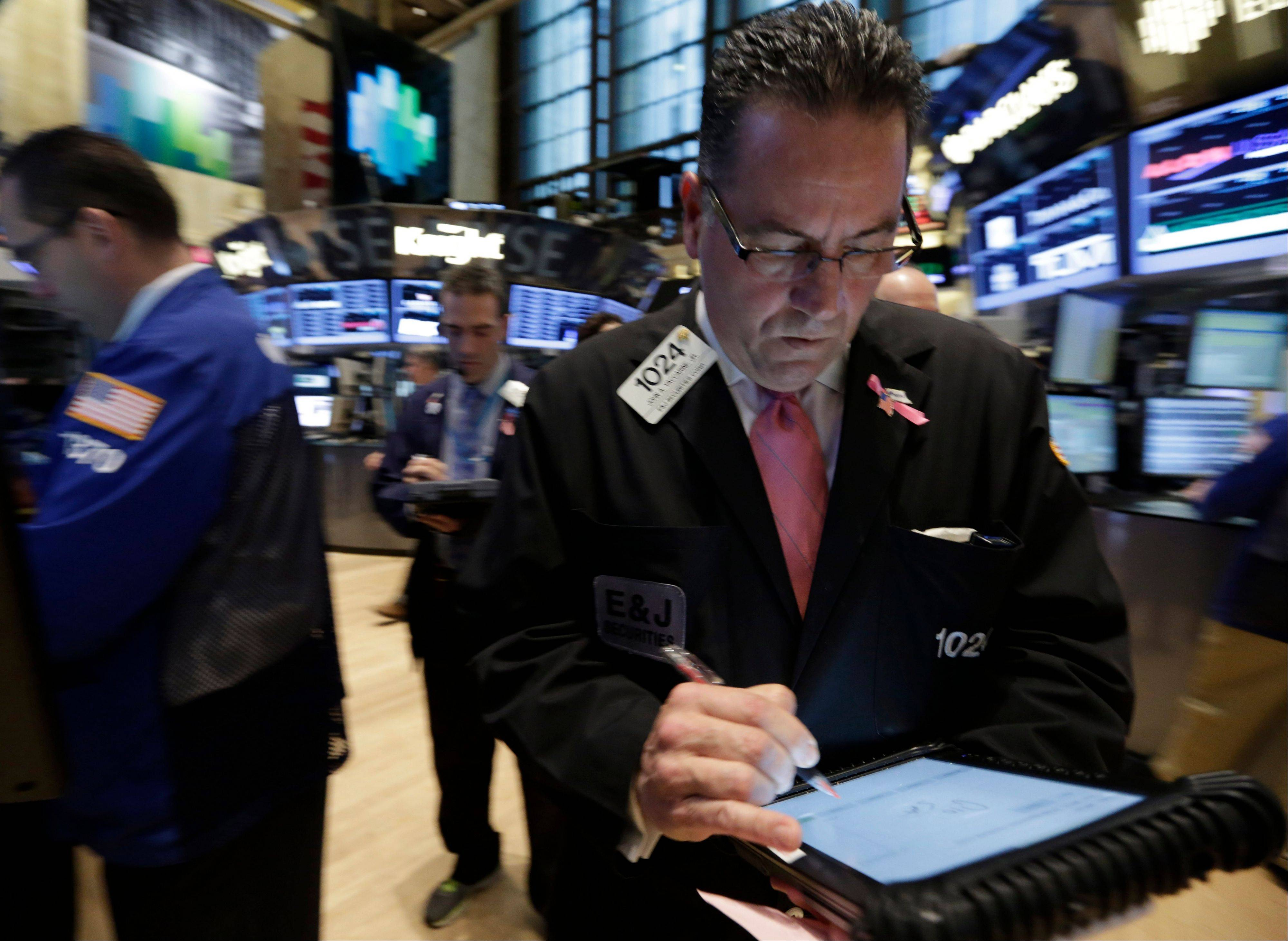 U.S. stocks rose, giving the Standard & Poor's 500 Index its first back-to-back gain in more than three weeks, on optimism over earnings and as commodities gained amid a report showing China's inflation slowed.