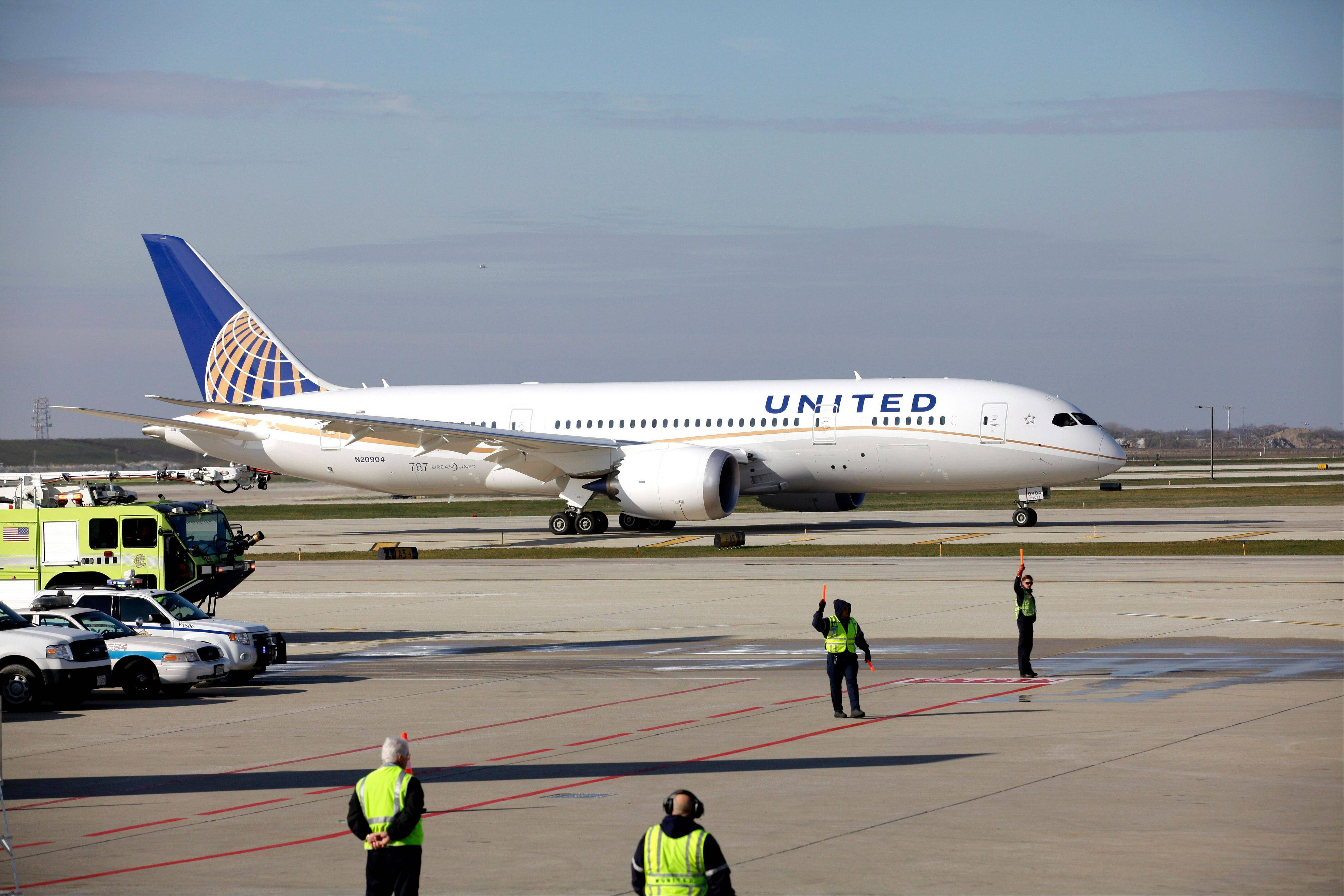 Chicago-based United Airlines is putting its grounded Boeing 787s back in the flight schedule, even though the plane is still grounded by government authorities.