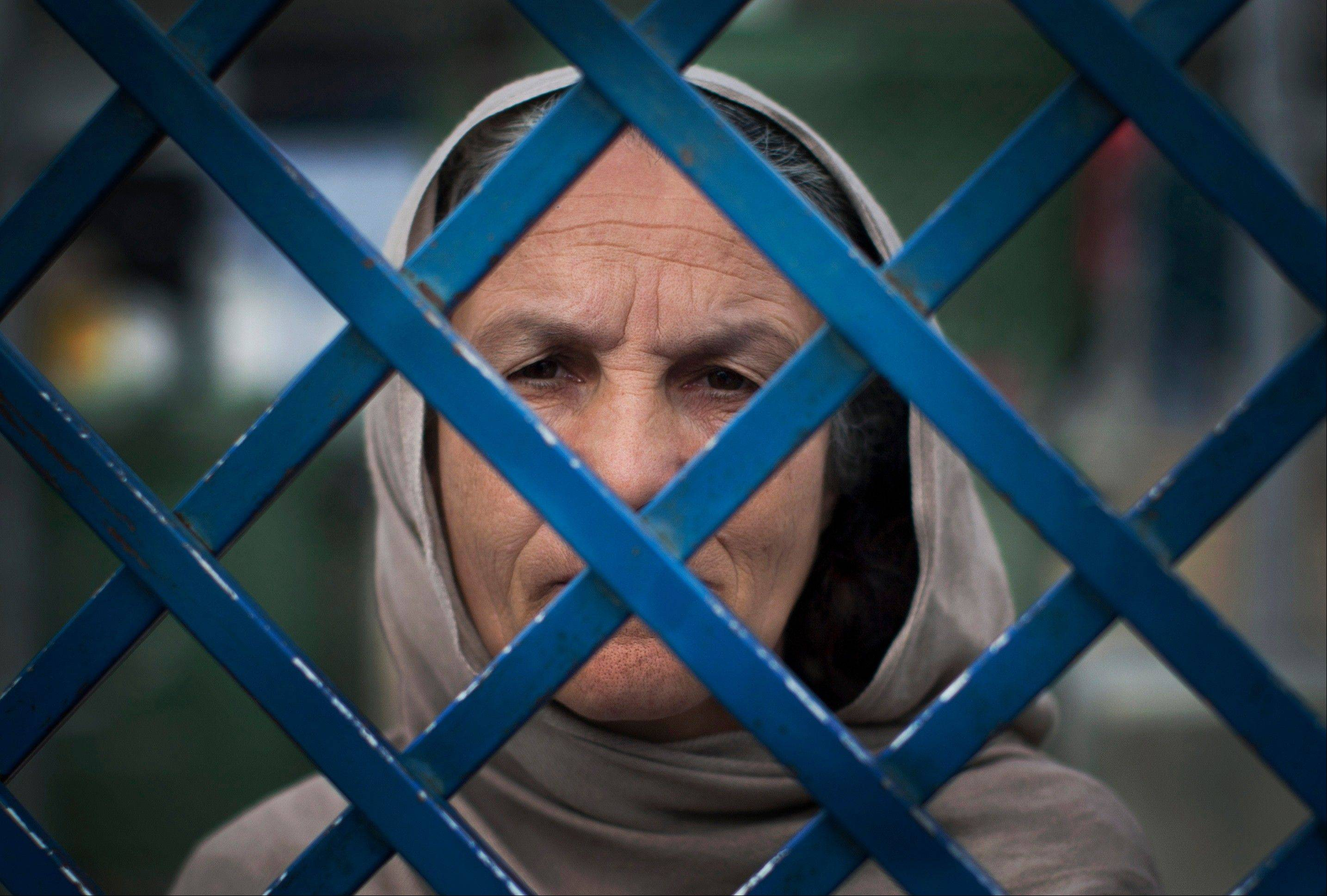 Female prisoner Fauzia is the oldest woman in Badam Bagh, Afghanistan's central women's prison, and has served already seven years in jail. She will serve a 17-year sentence for killing