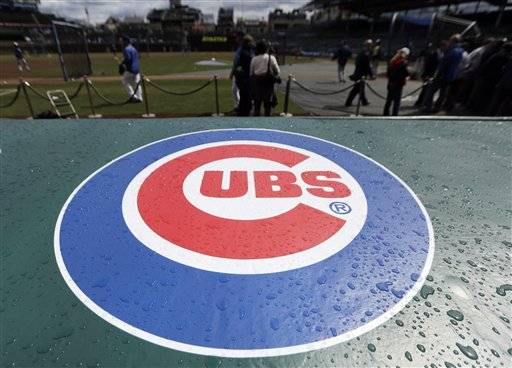 The game between the Milwaukee Brewers and Cubs scheduled for Wednesday night has been postponed because of inclement weather. Rain was in the forecast, along with subfreezing wind chill temperatures. No makeup date was announced.