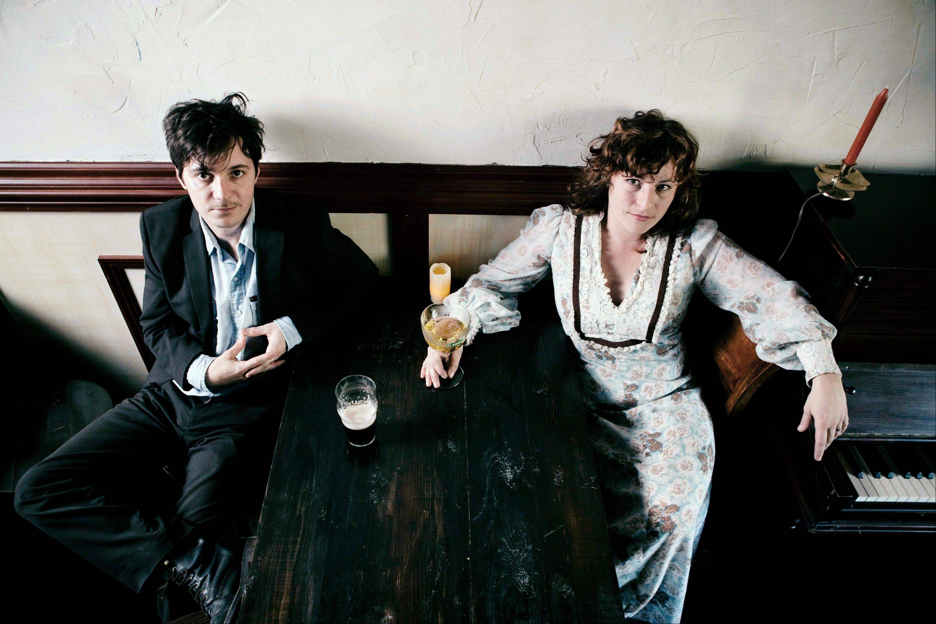 Michael Trent, left, and Cary Ann Hearst from the band Shovels & Rope.
