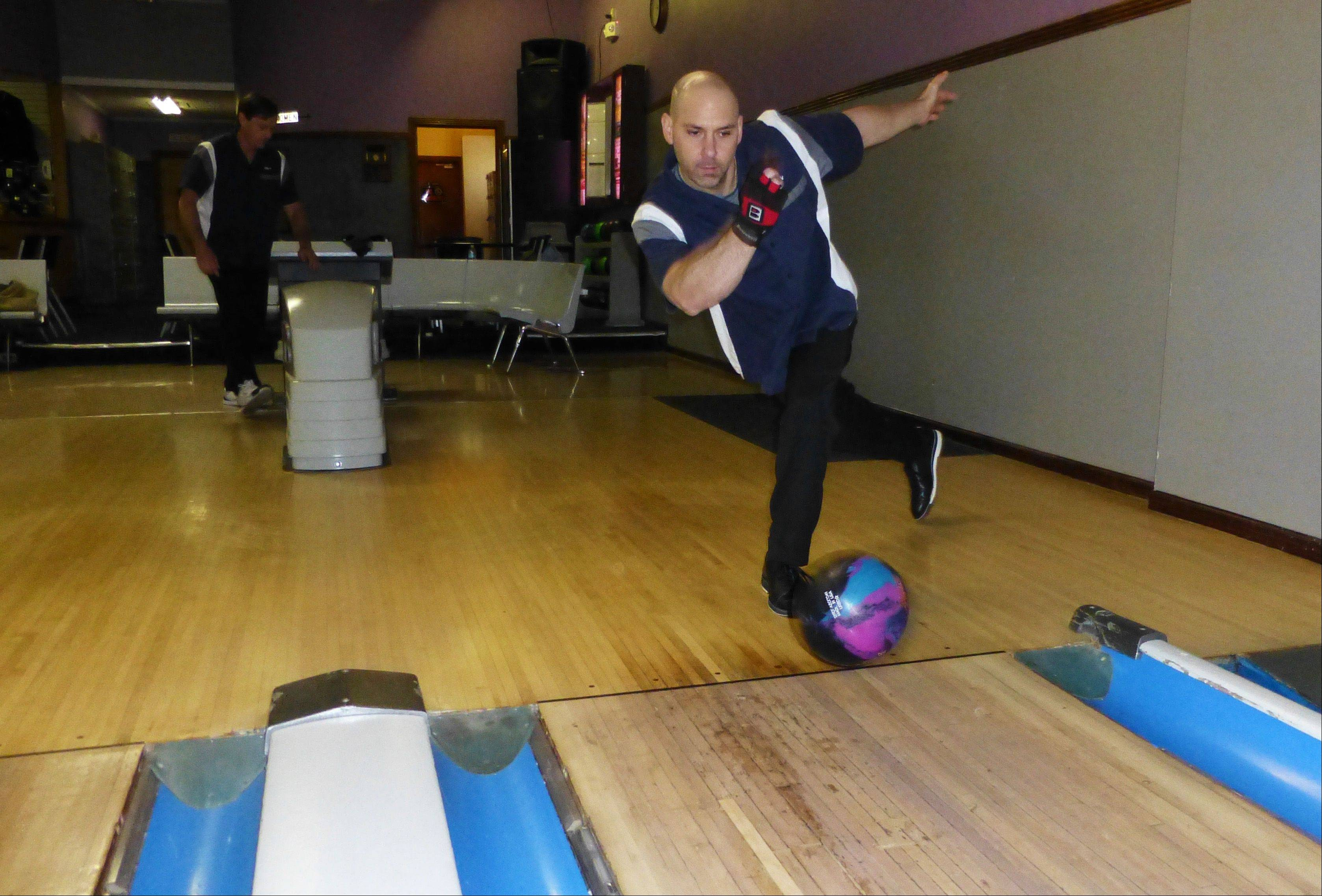 Mike Grocke of Schaumburg will represent the Bowlway Lanes team in the Elgin Cross-Town Classic, a bowling tournament that kicks off at 1 p.m. Saturday, April 13, at Bowlway Lanes.