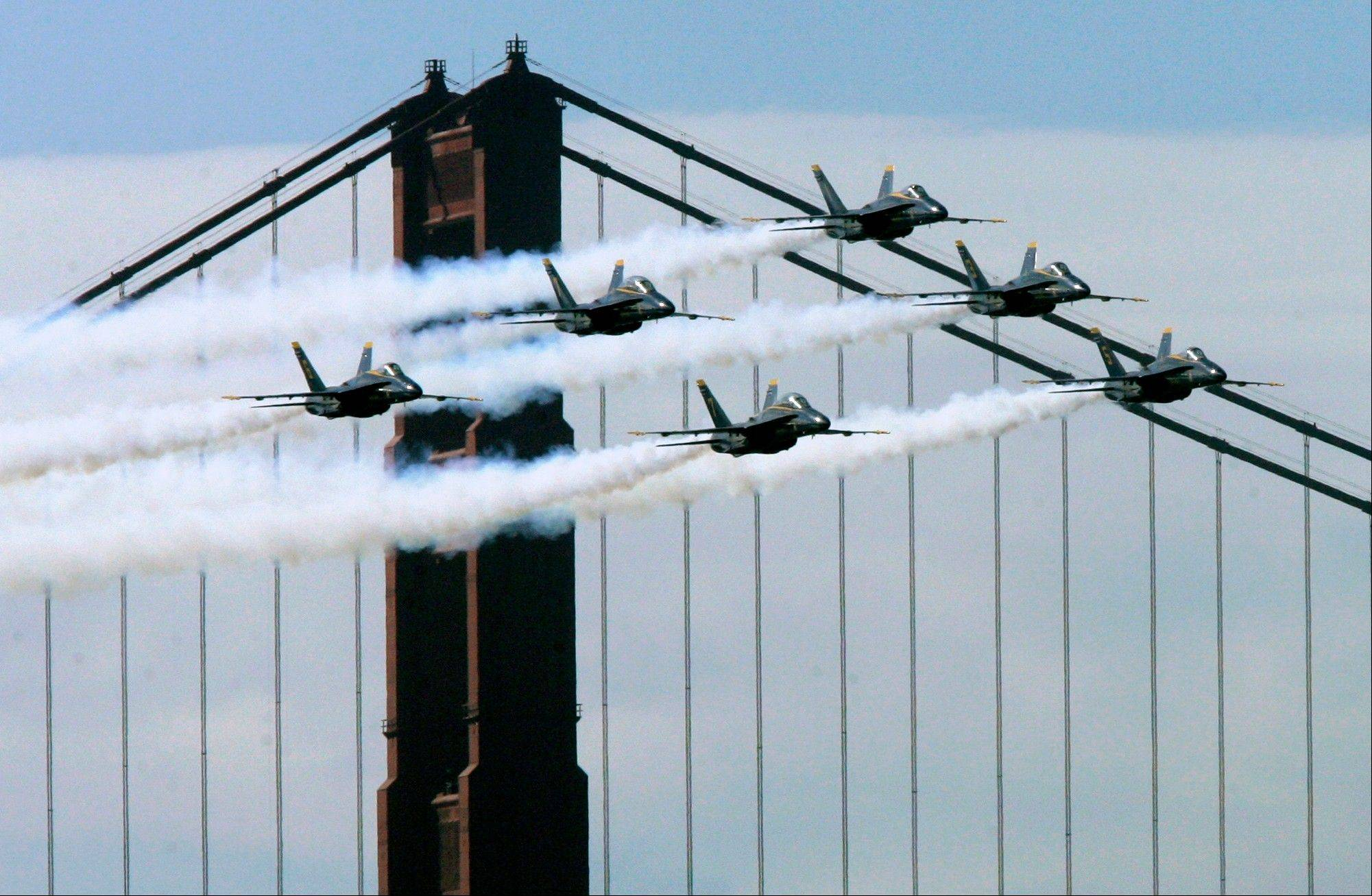 The U.S. Navy's Blue Angels announced Tuesday the rest of its 2013 season is canceled because of federal budget cuts.